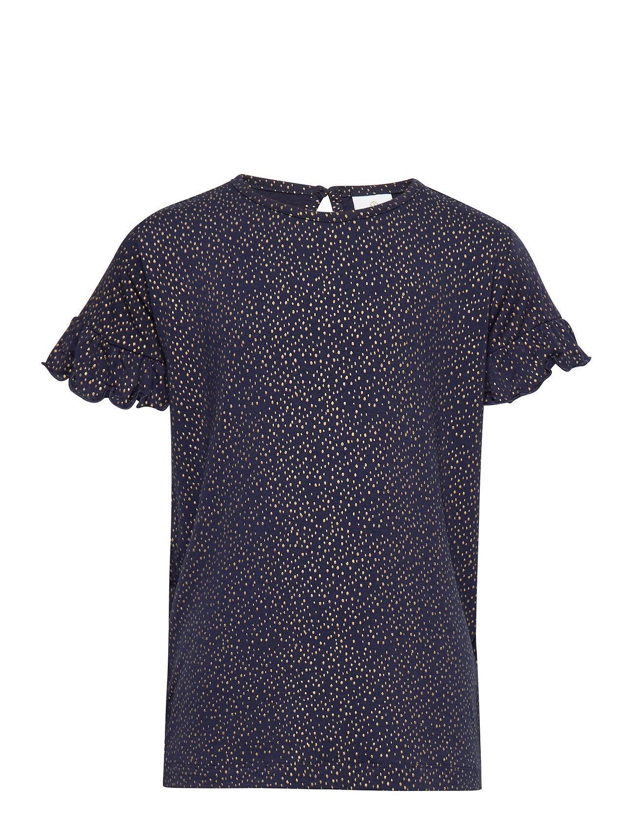 The New Olvia S_s Tee T-shirts Short-sleeved Sininen