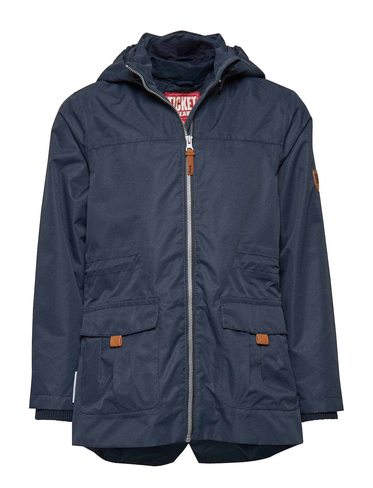 Ticket To Heaven Dobby Outerwear Shell Clothing Shell Jacket Sininen Ticket To Heaven