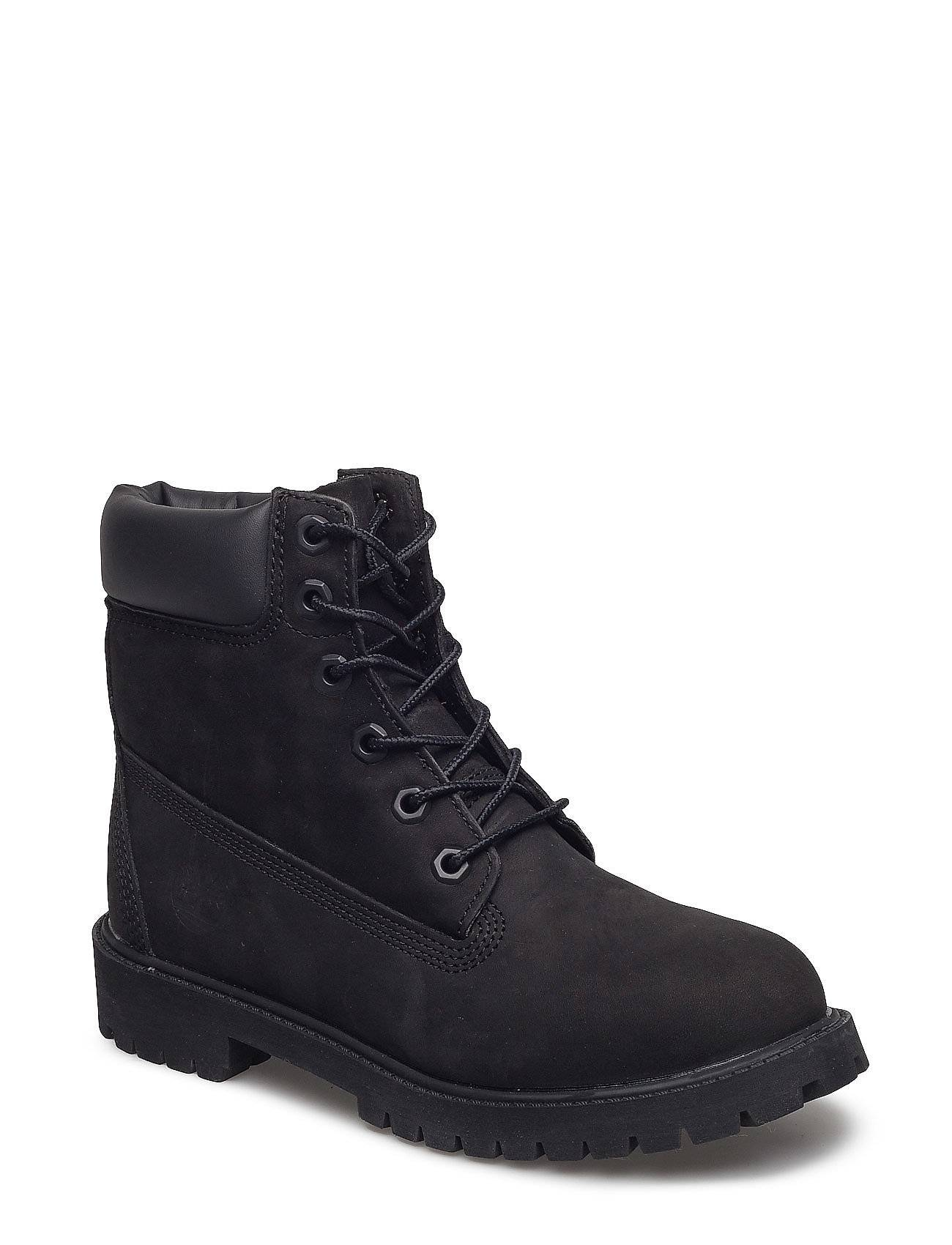 Timberland 6 In Premium Wp Boot Bootsit Nauhalliset Saapikkaat Musta Timberland