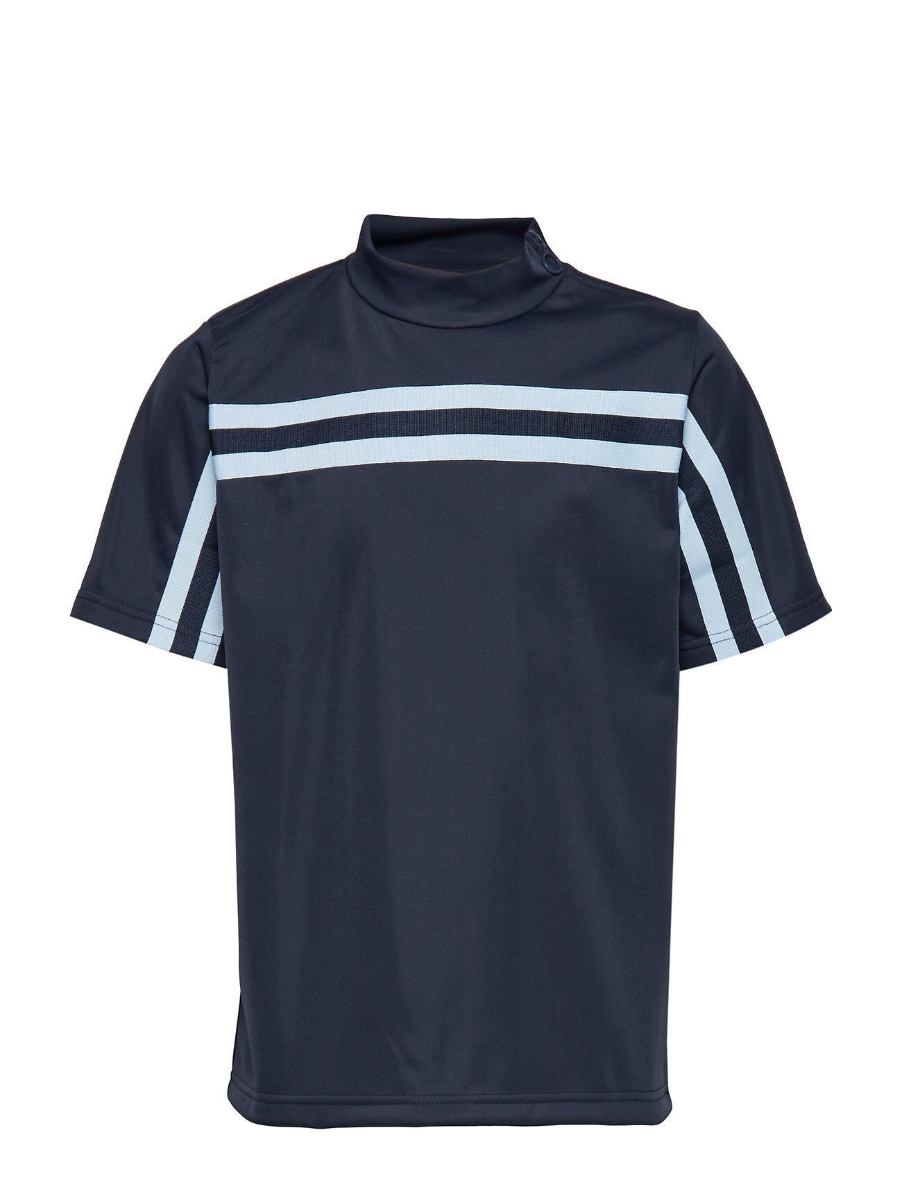 Unauthorized Franco T-Shirt T-shirts Short-sleeved Sininen Unauthorized