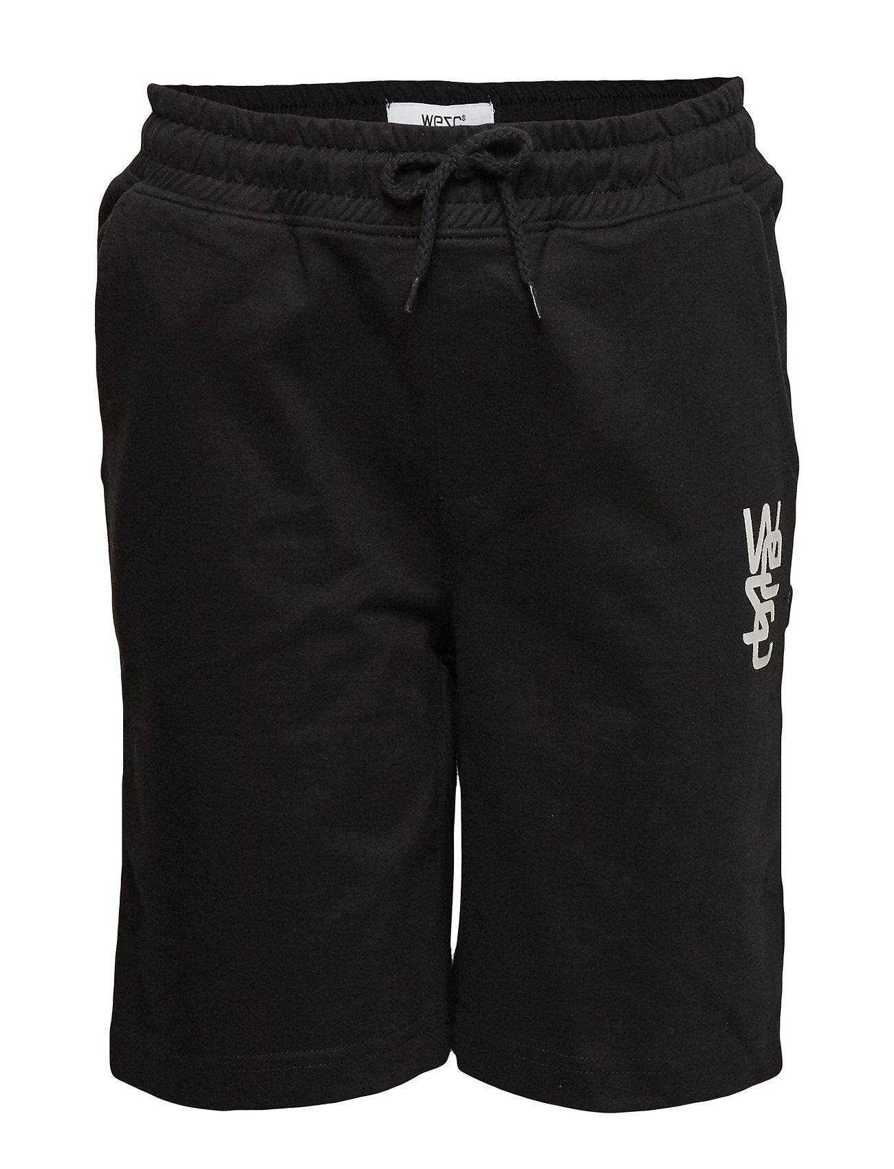 WeSC Overlay Shorts Big Boy Shortsit Musta WeSC