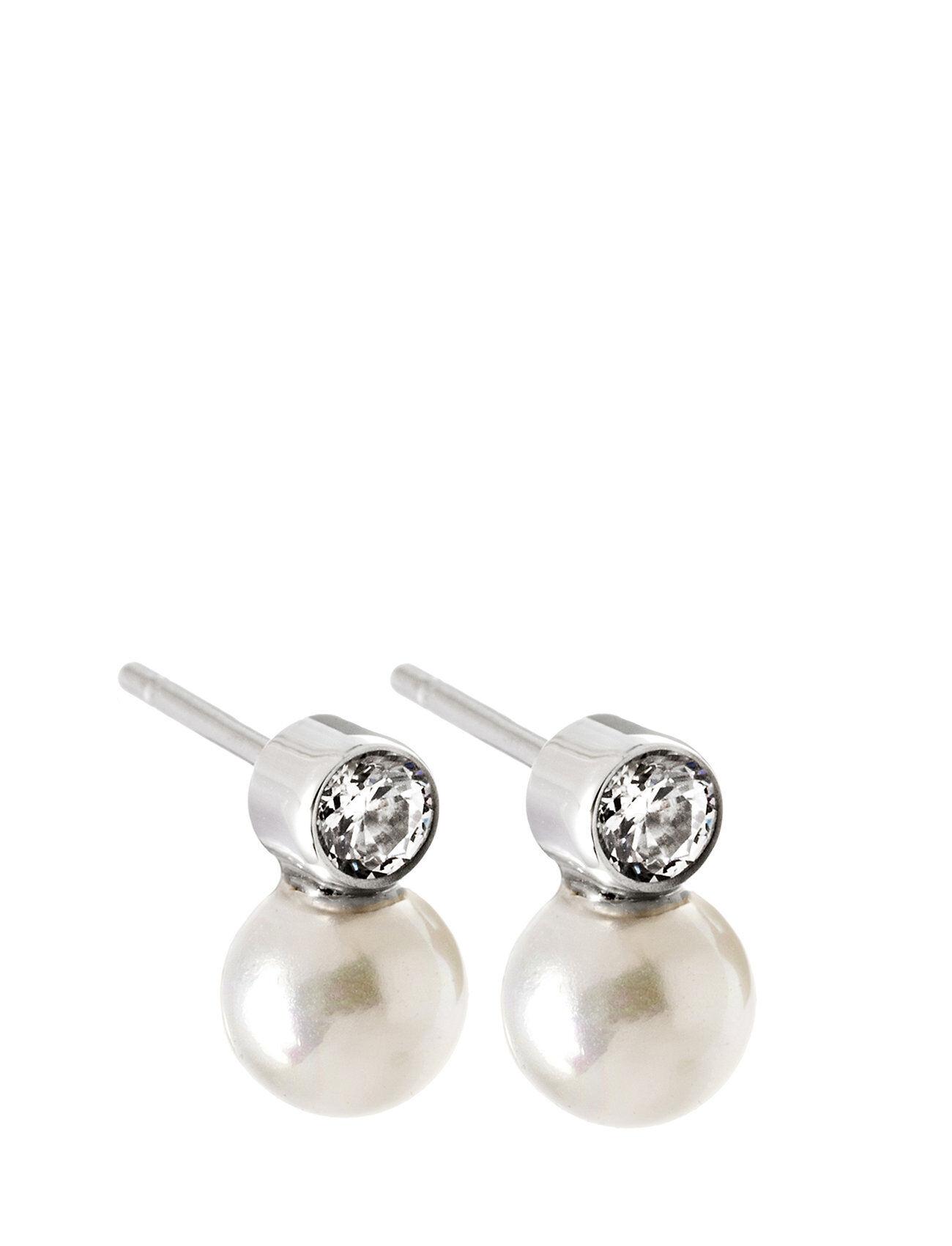 Edblad Luna Studs Small Steel Accessories Jewellery Earrings Studs Hopea Edblad