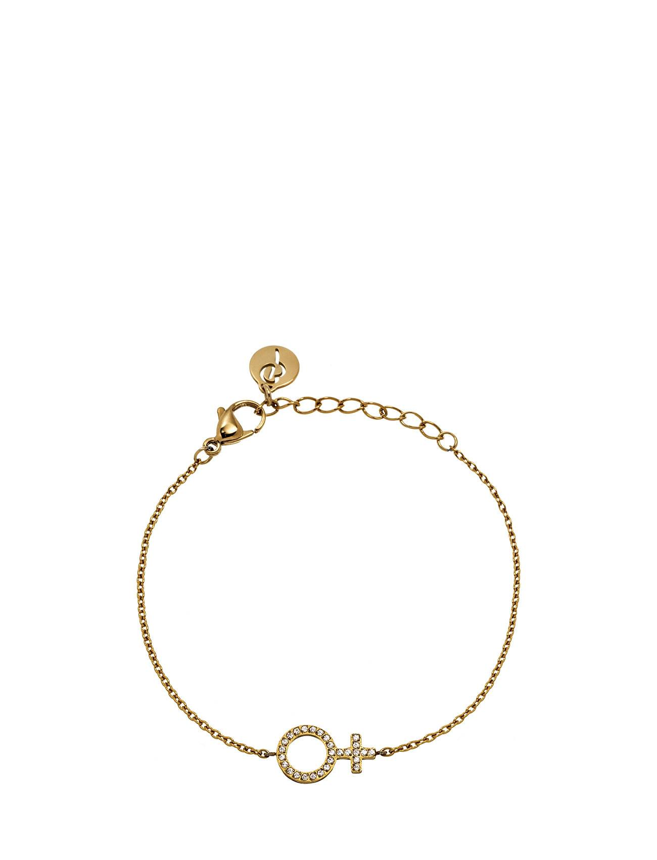Edblad Me Bracelet Gold Accessories Jewellery Bracelets Chain Bracelets Kulta Edblad