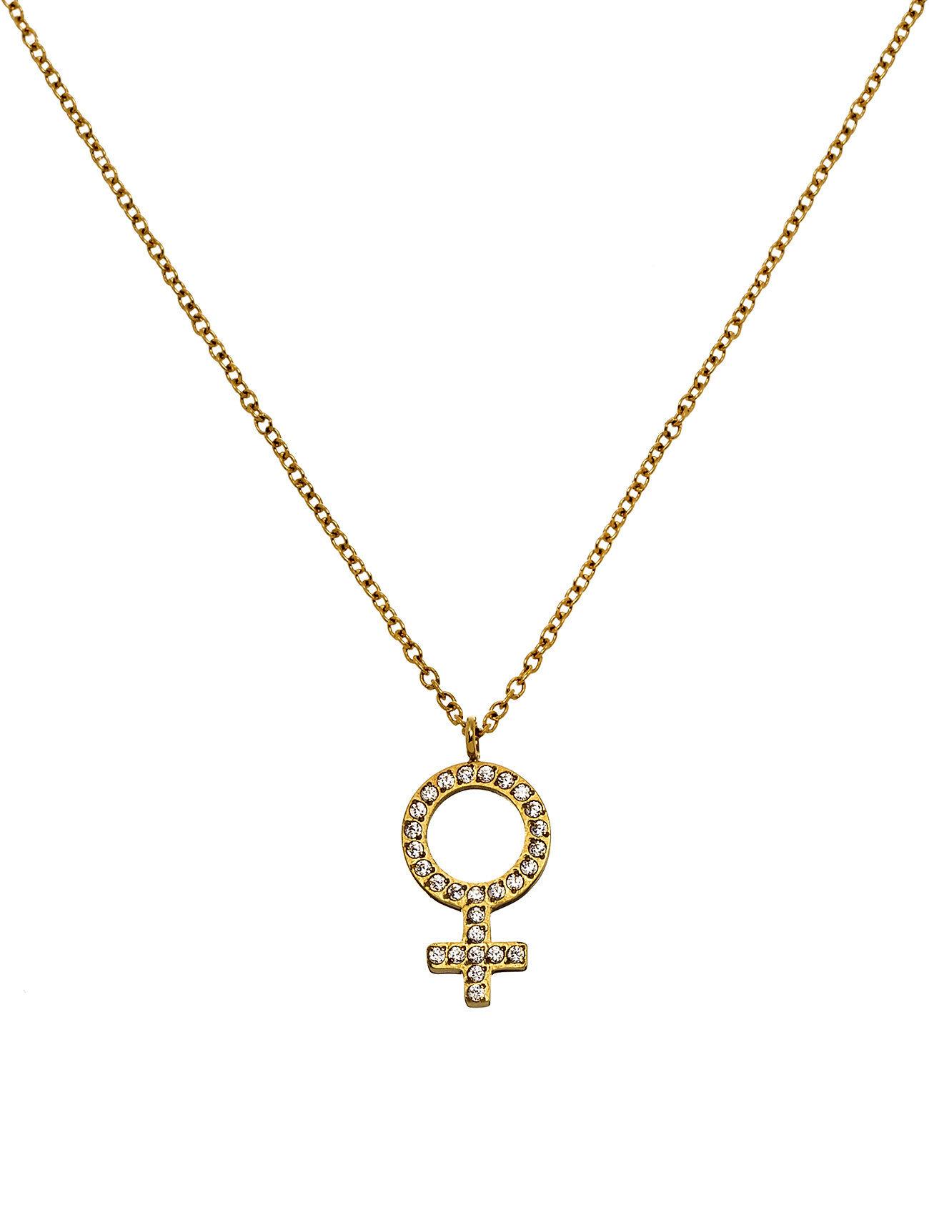 Edblad Me Necklace Gold Accessories Jewellery Necklaces Dainty Necklaces Kulta Edblad