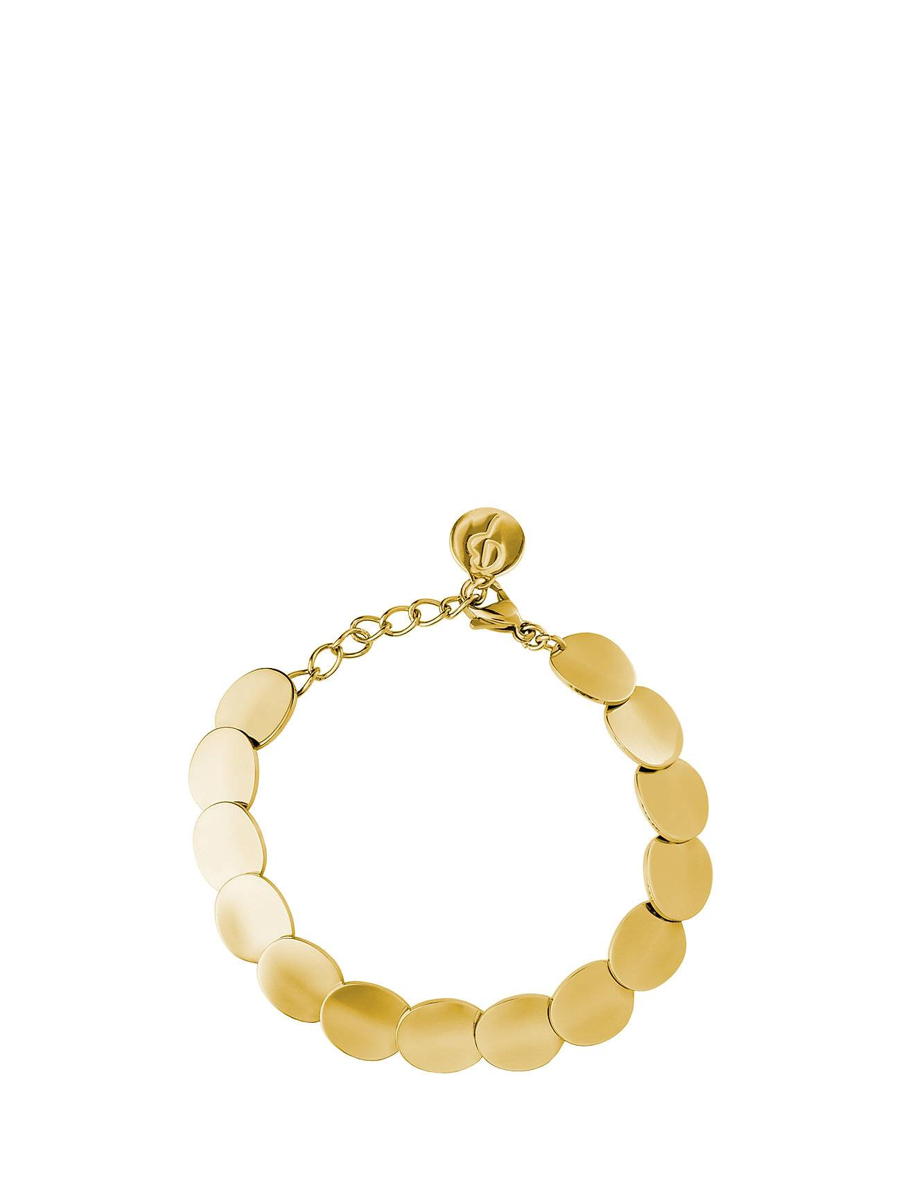 Edblad Pebble Bracelet Gold Accessories Jewellery Bracelets Chain Bracelets Kulta Edblad