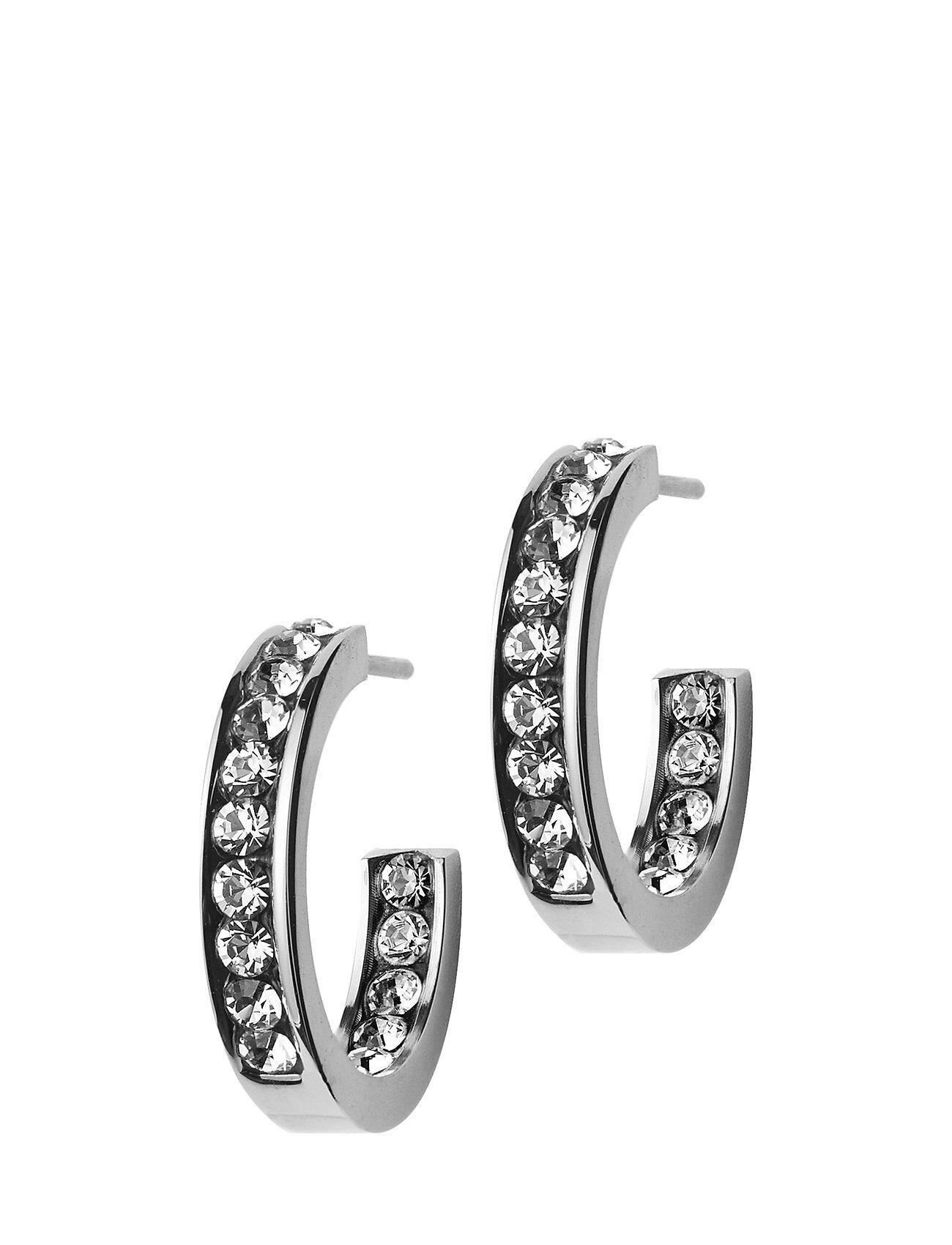Edblad Andorra Earrings Mini Steel Accessories Jewellery Earrings Hoops Hopea Edblad