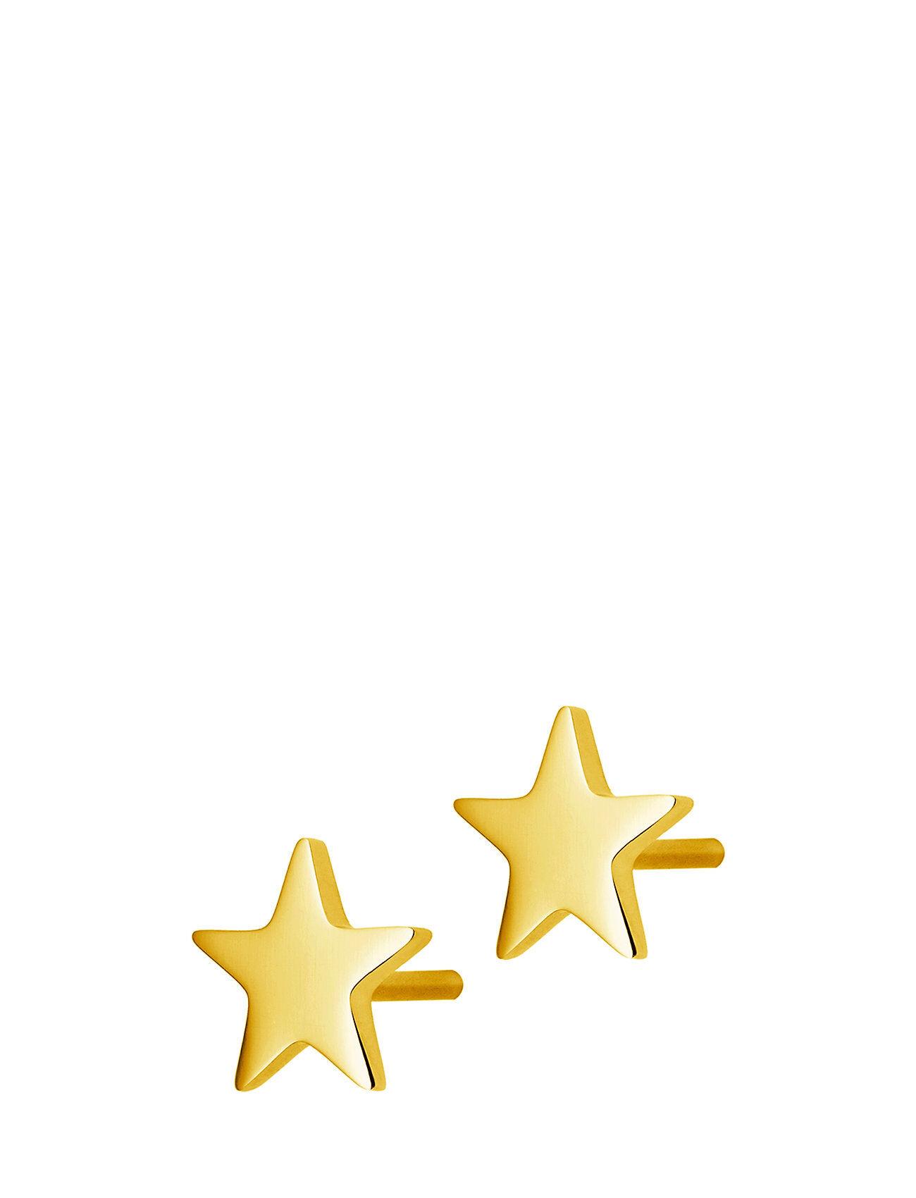 Edblad Sirius Studs Gold Accessories Jewellery Earrings Studs Kulta Edblad