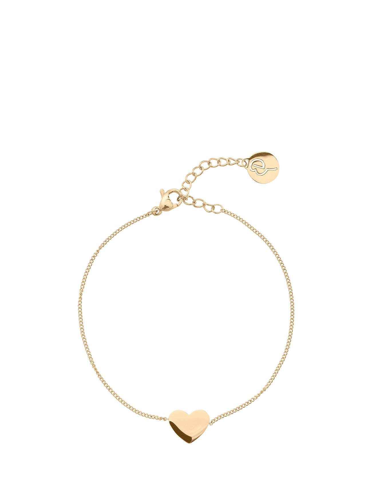 Edblad Pure Heart Bracelet Gold Accessories Jewellery Bracelets Chain Bracelets Kulta Edblad