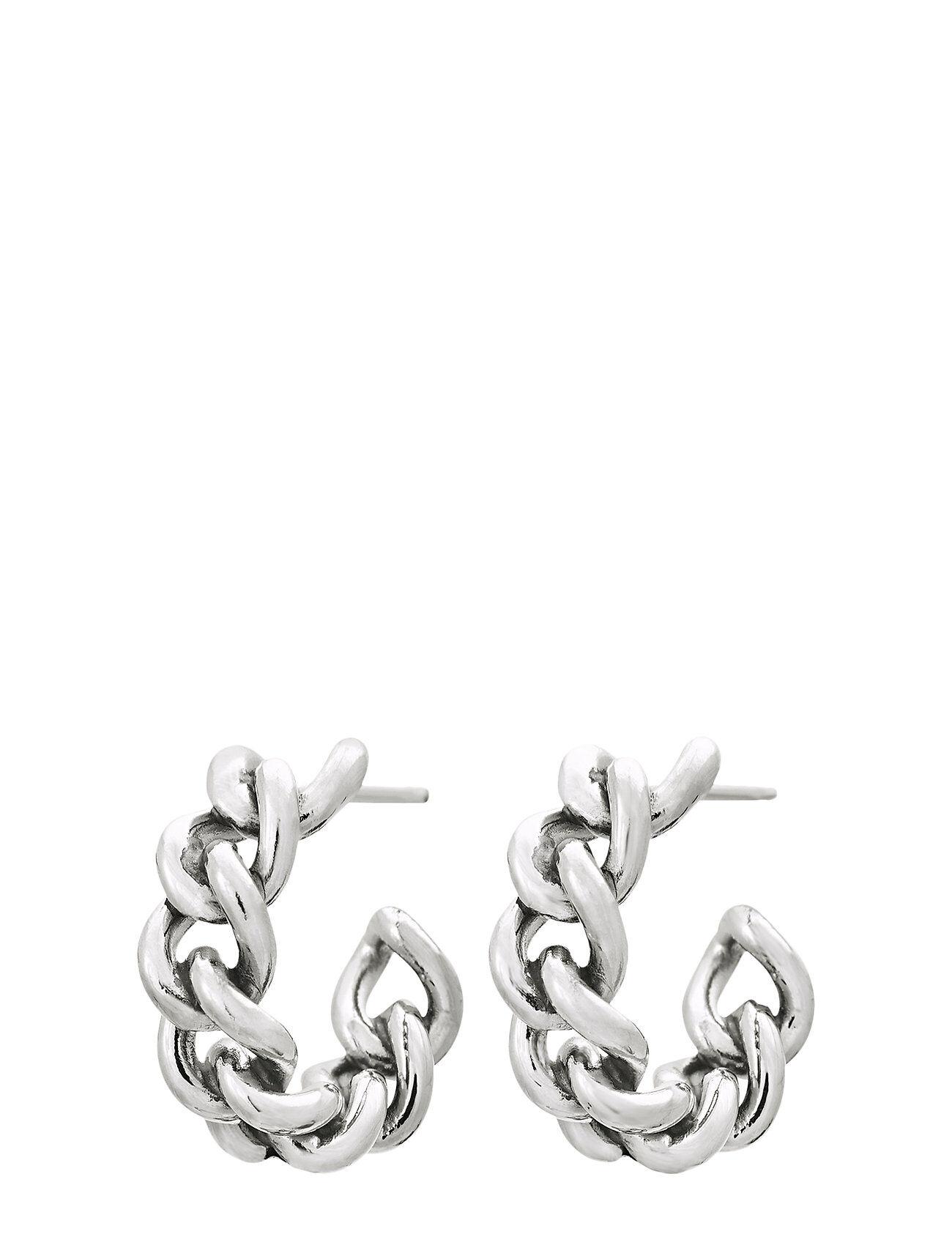 Edblad Lourdes Chain Creole Accessories Jewellery Earrings Hoops Hopea Edblad