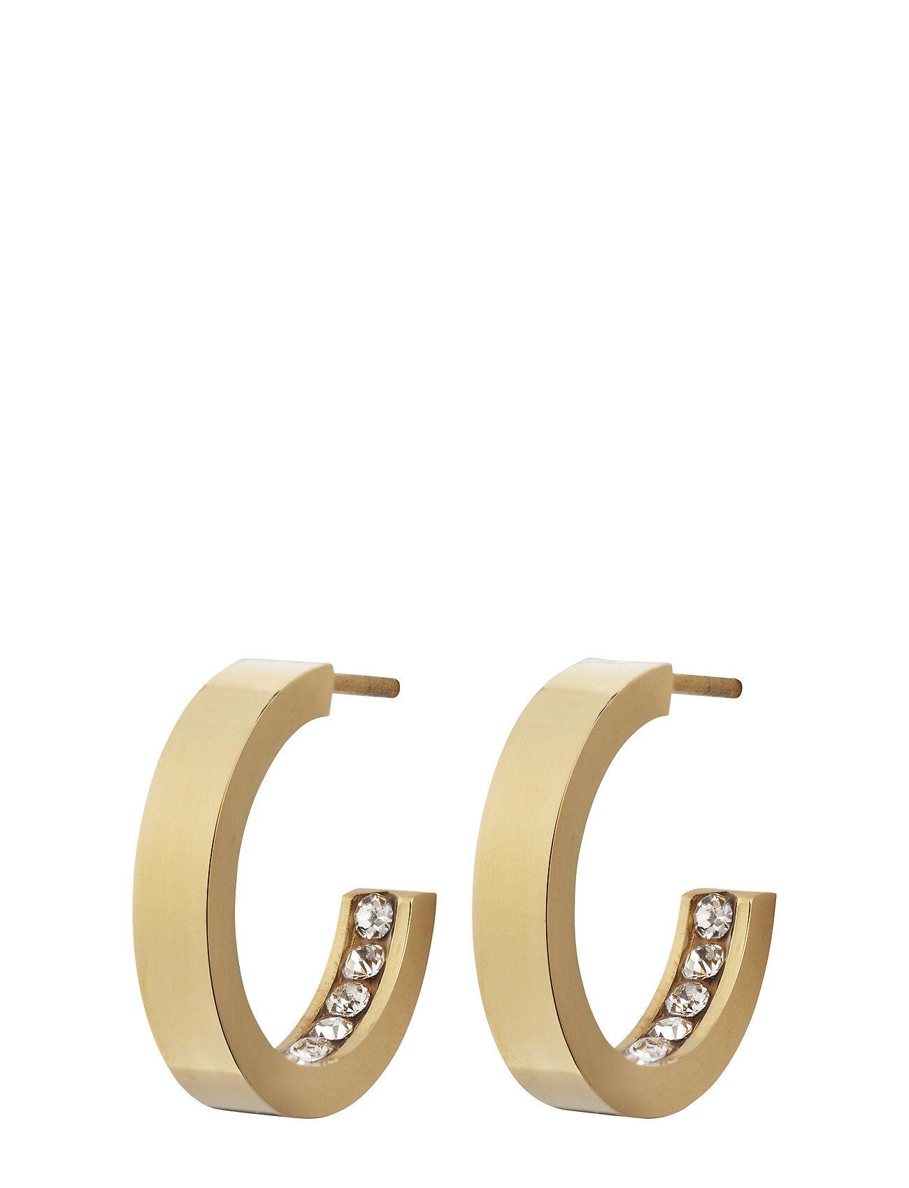 Edblad Monaco Earrings Mini Accessories Jewellery Earrings Hoops Kulta Edblad