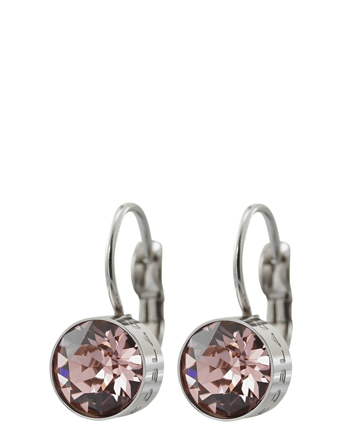 Edblad Diana Earrings Bubble Gum Crystal Steel Accessories Jewellery Earrings Hoops Hopea Edblad