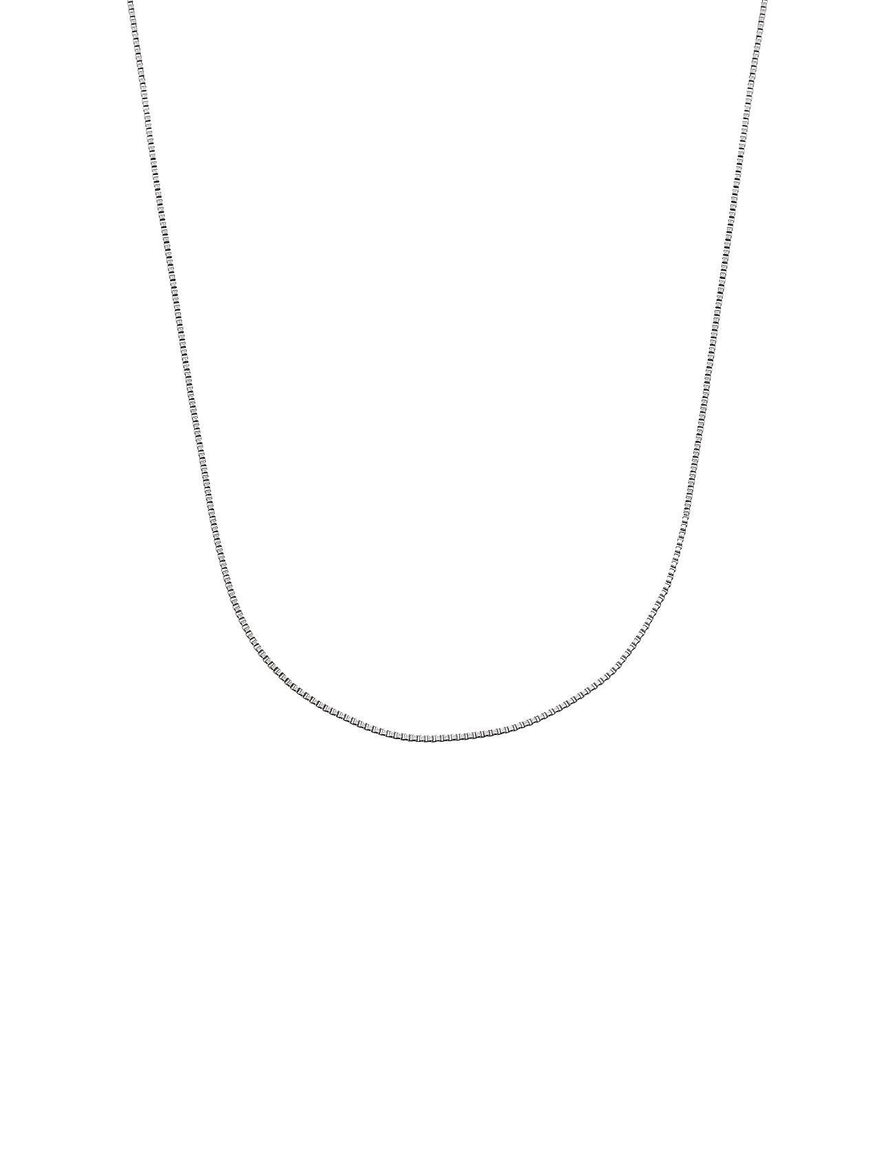 Edblad Charmentity Chain Box 40 Cm Steel Accessories Jewellery Necklaces Dainty Necklaces Hopea Edblad