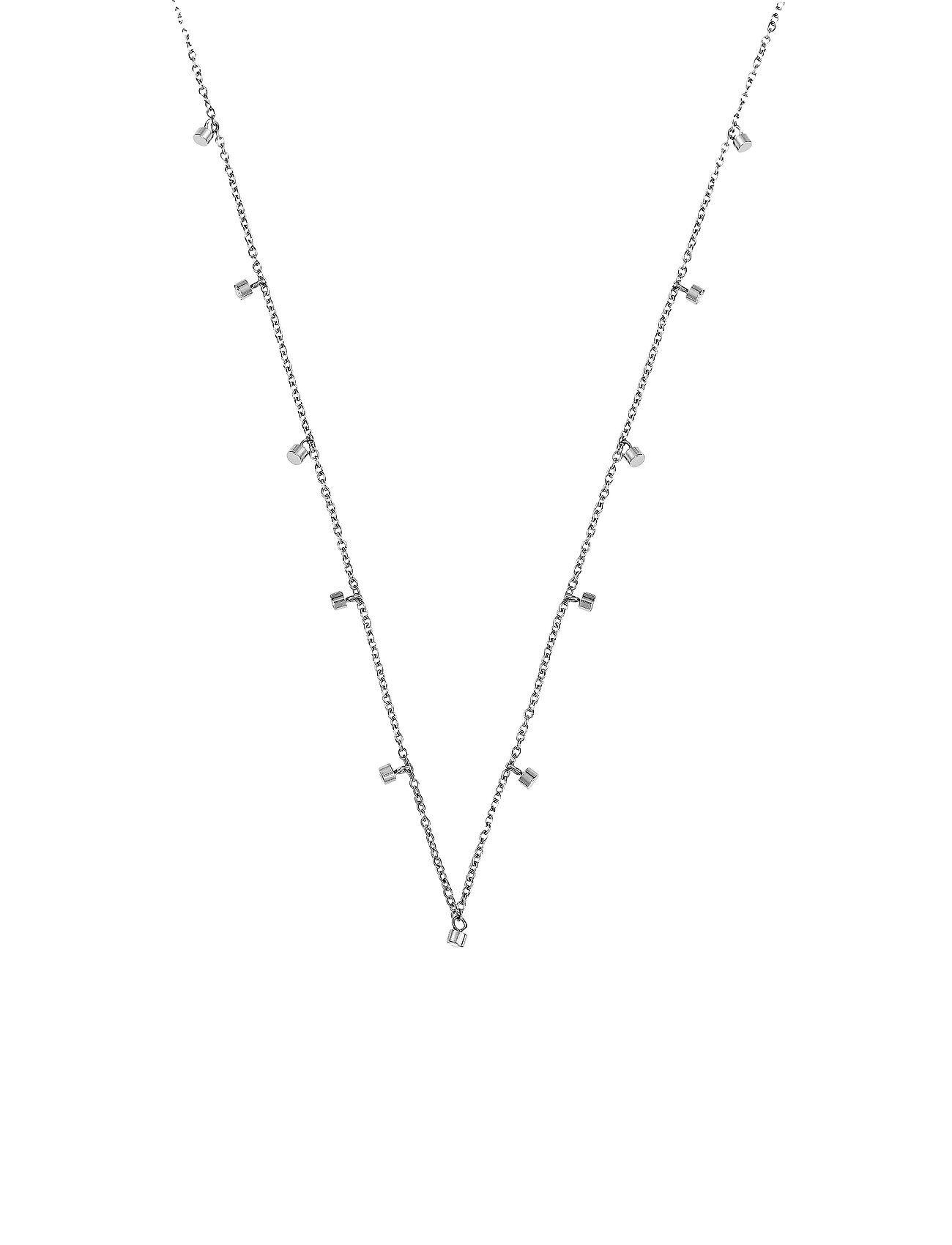 Edblad Tina Necklace Steel Accessories Jewellery Necklaces Dainty Necklaces Hopea Edblad