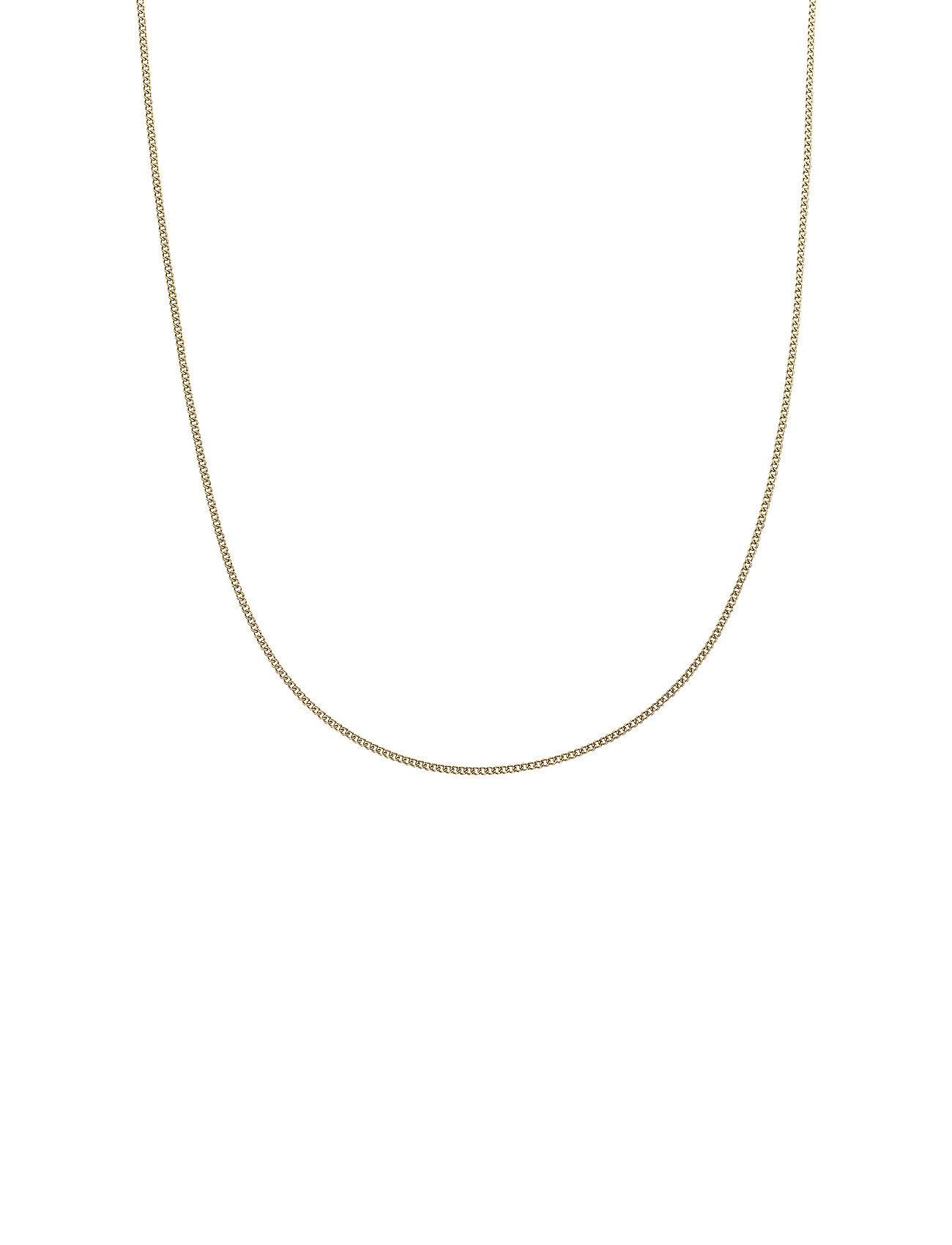 Edblad Charmentity Chain Curb 80 Cm Gold Accessories Jewellery Necklaces Dainty Necklaces Kulta Edblad