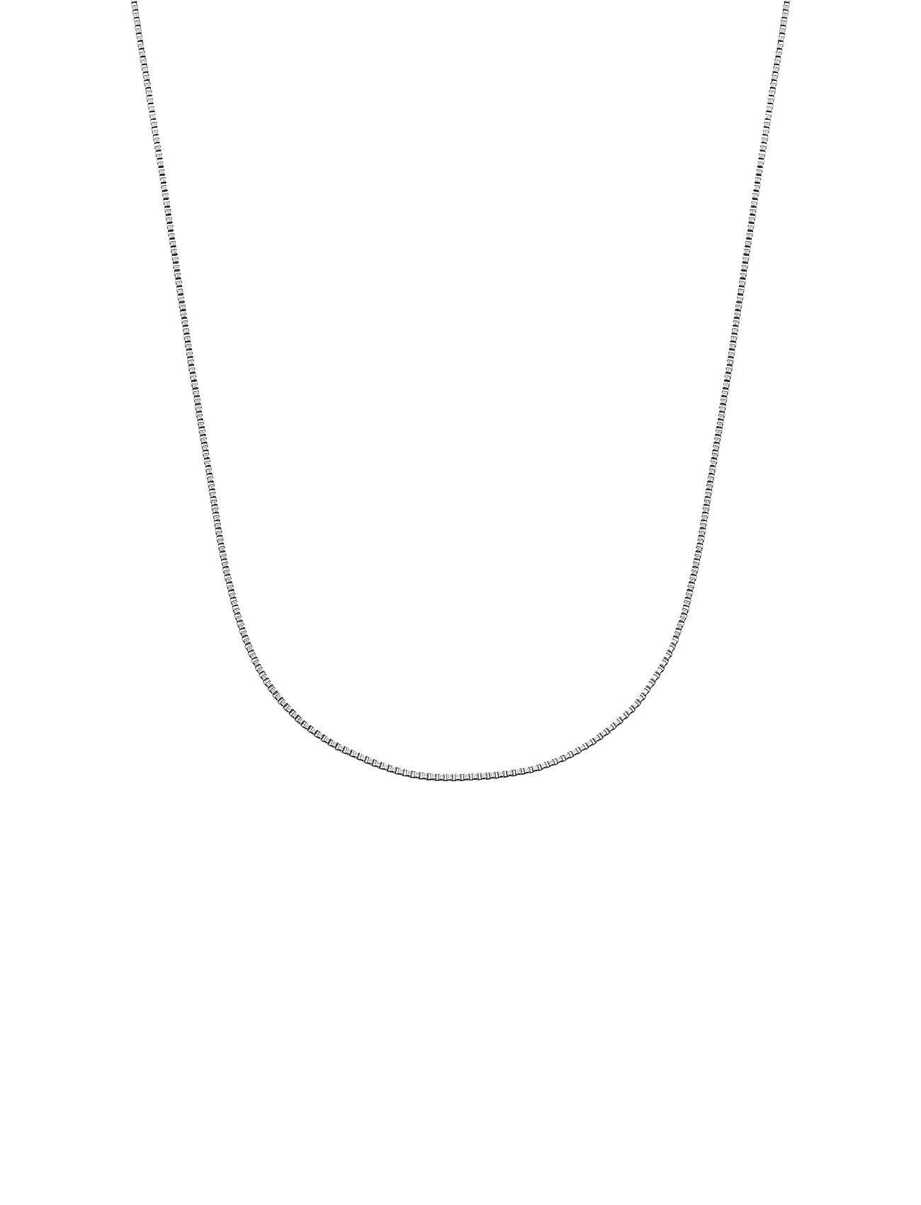 Edblad Charmentity Chain Box 80 Cm Steel Accessories Jewellery Necklaces Dainty Necklaces Hopea Edblad
