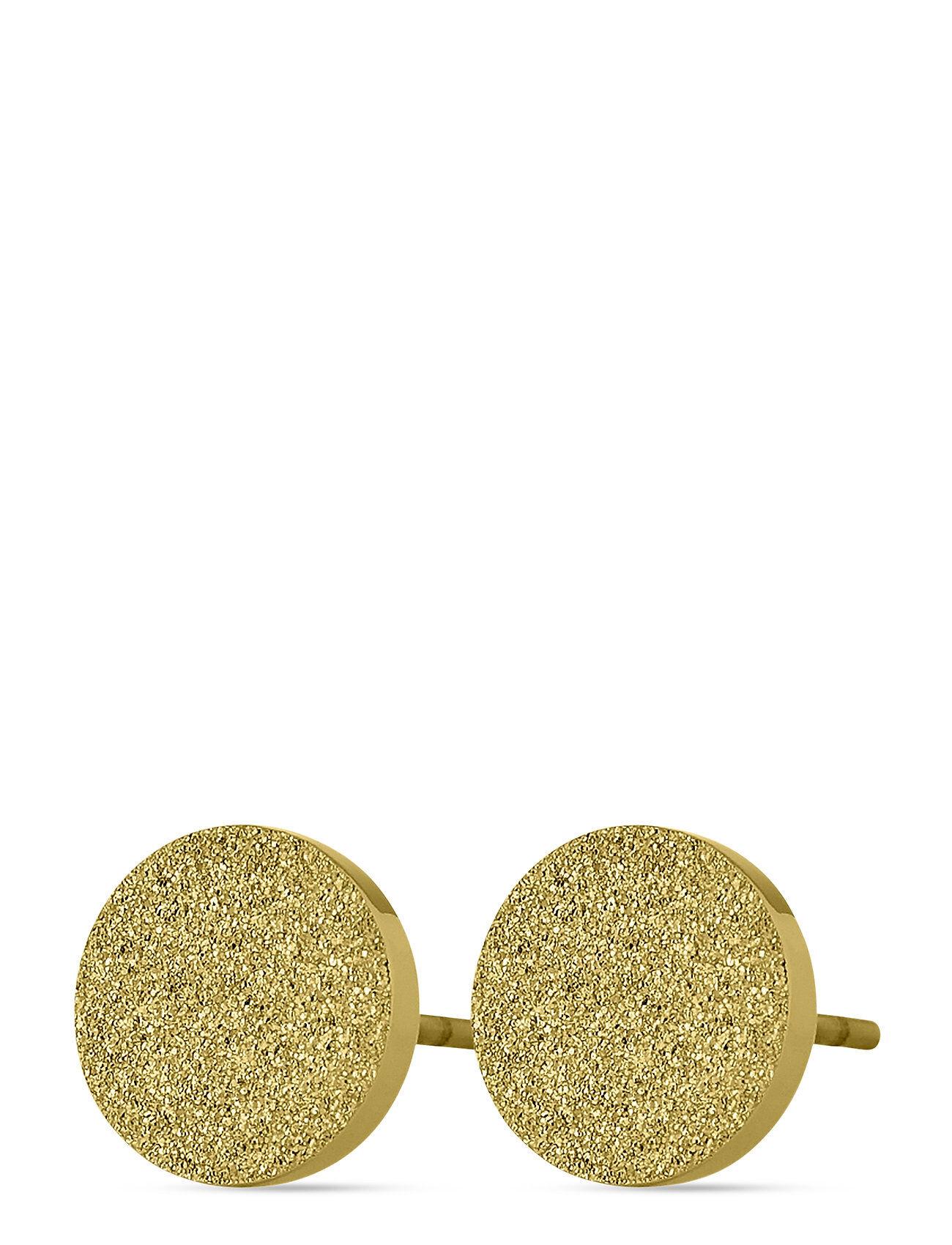 Edblad Dottie Studs Glittering Gold Accessories Jewellery Earrings Studs Kulta Edblad