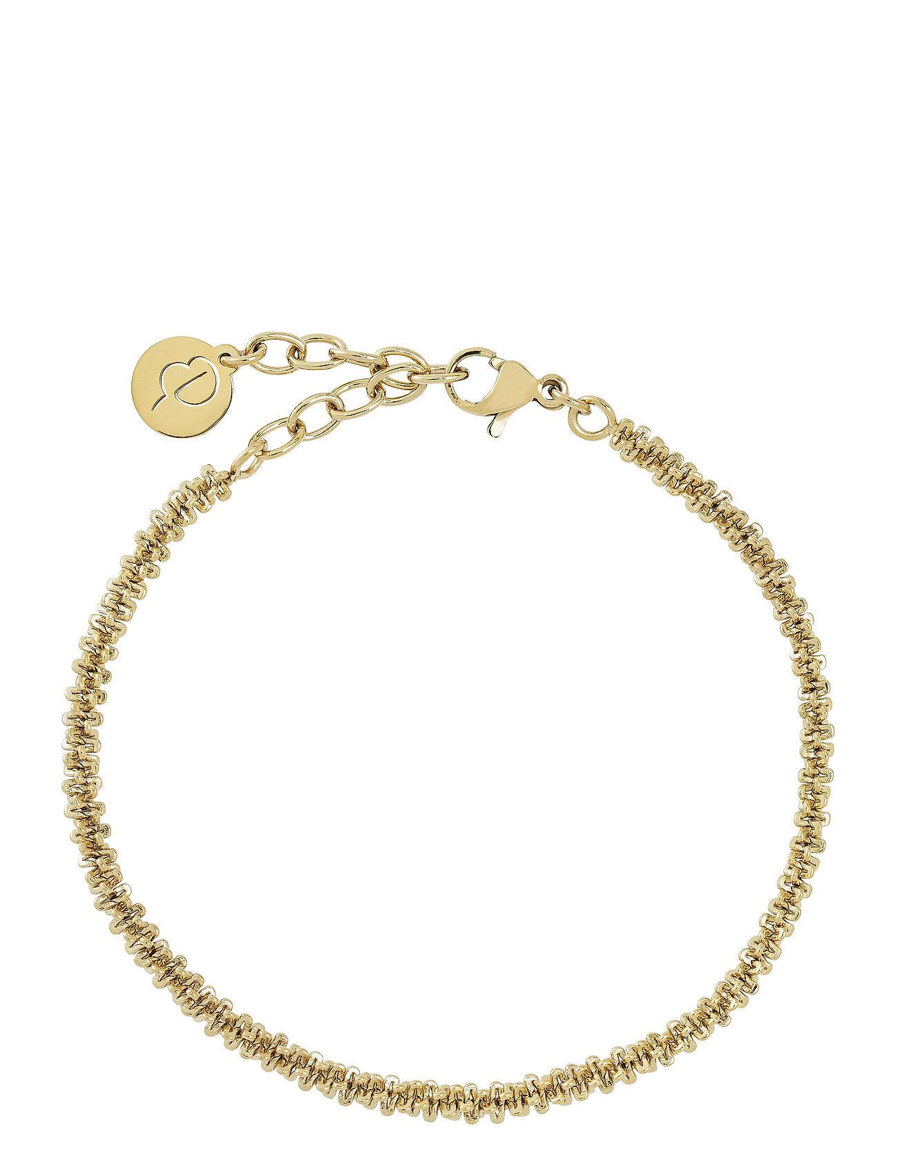 Edblad Tinsel Bracelet Accessories Jewellery Bracelets Chain Bracelets Kulta Edblad
