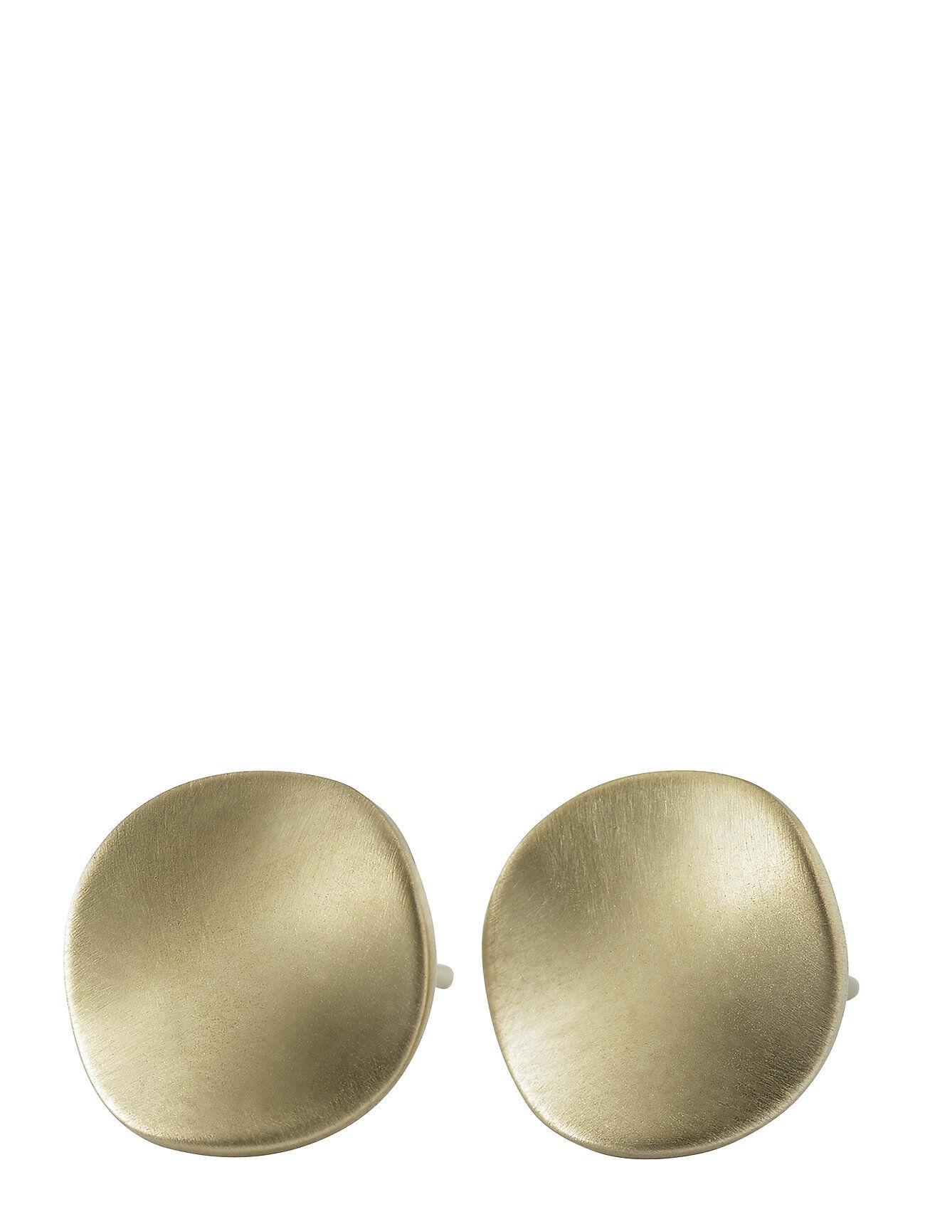 Edblad Elsa Studs Matt Accessories Jewellery Earrings Studs Kulta Edblad
