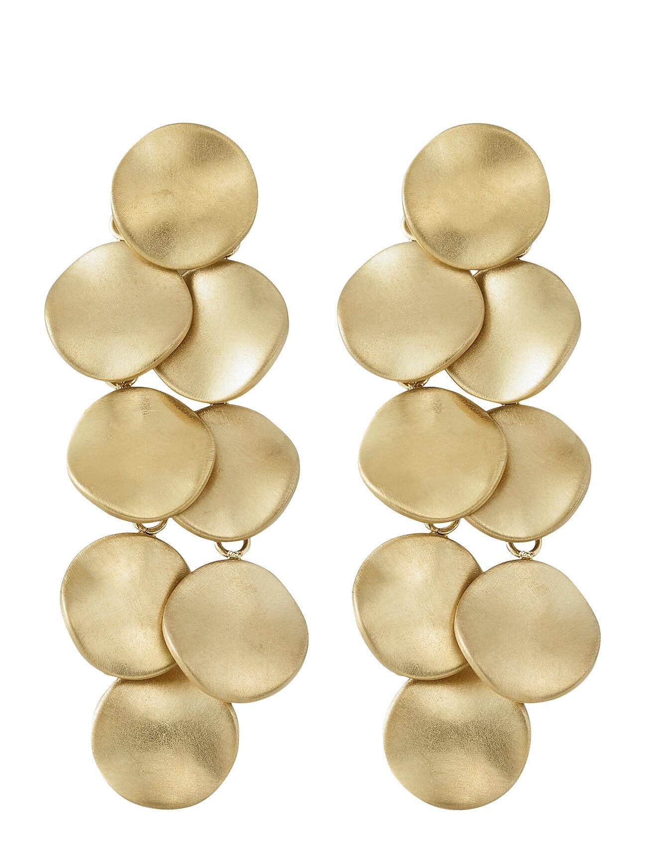 Edblad Elsa Earrings Multi Matt Accessories Jewellery Earrings Studs Kulta Edblad