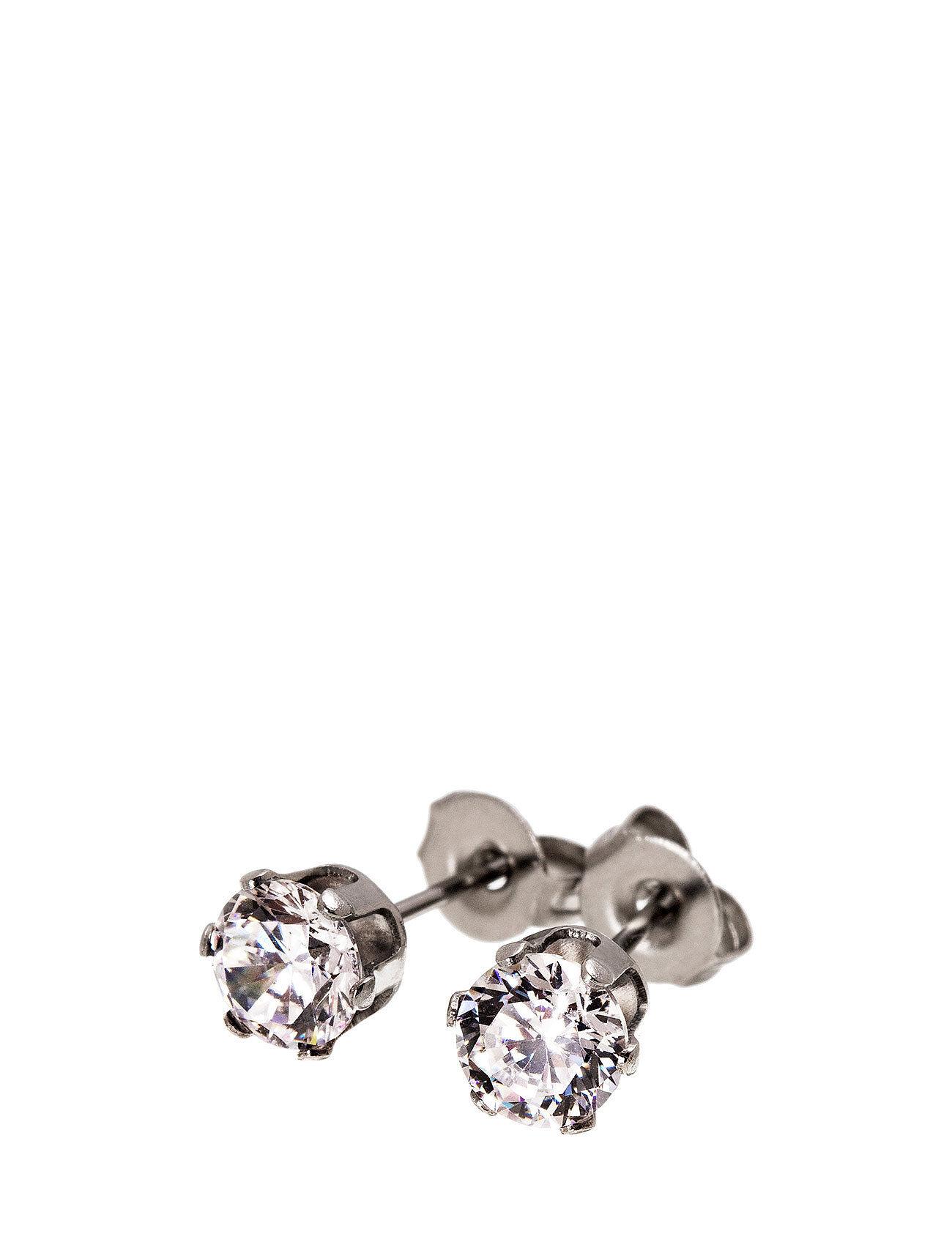 Edblad Crown Studs Steel Accessories Jewellery Earrings Studs Hopea Edblad