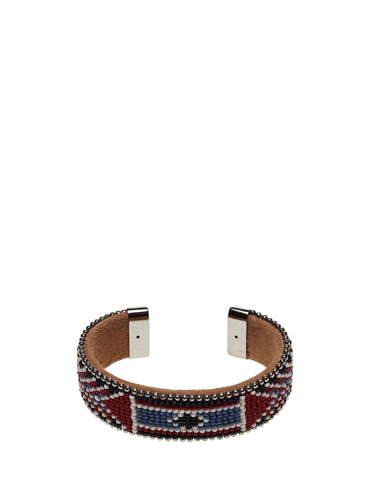 Hunkydory Naya Wide Beaded Cuff Accessories Jewellery Bracelets Bangles Monivärinen/Kuvioitu Hunkydory