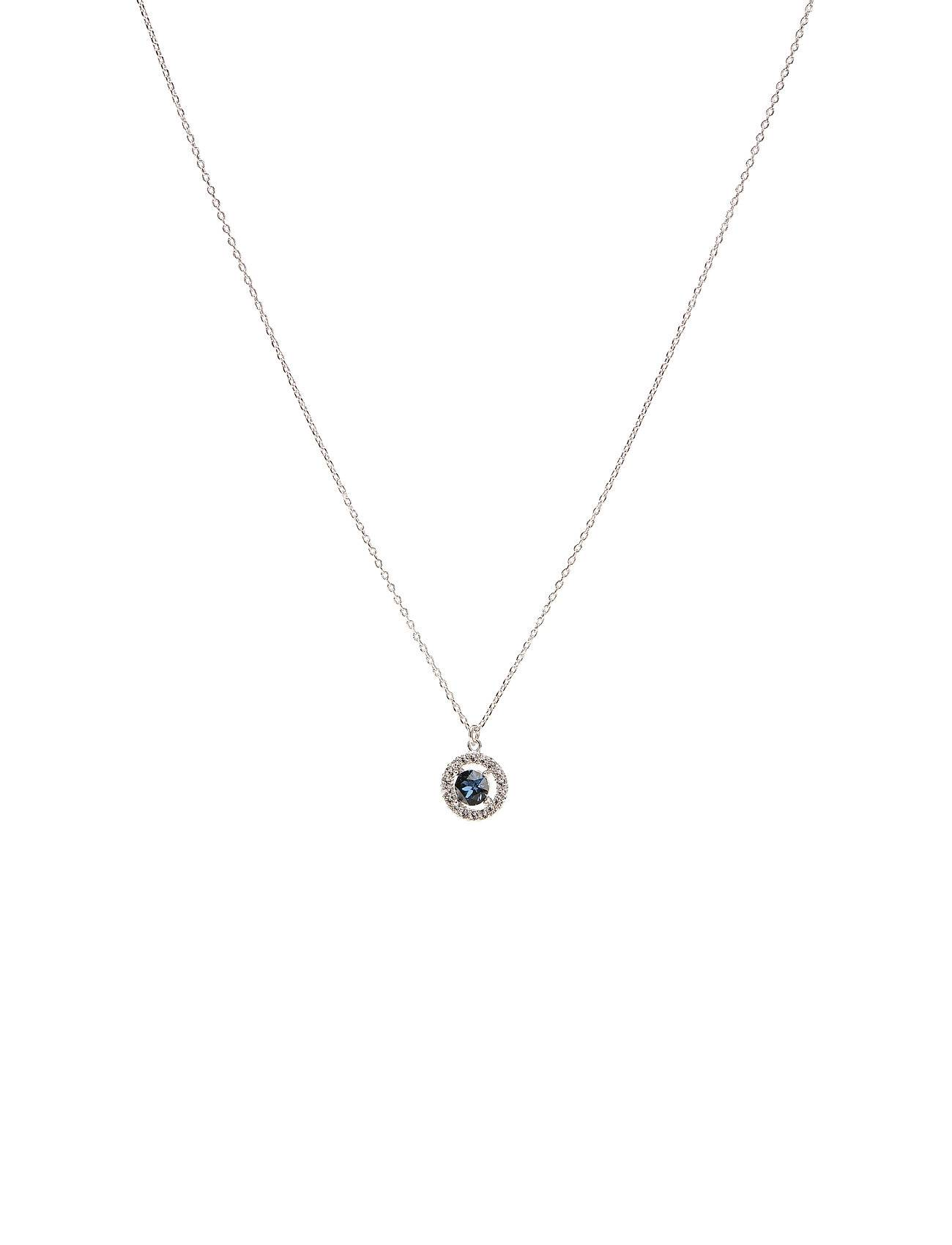 LILY AND ROSE Miss Miranda Necklace - Silver Blue Accessories Jewellery Necklaces Dainty Necklaces Hopea LILY AND ROSE