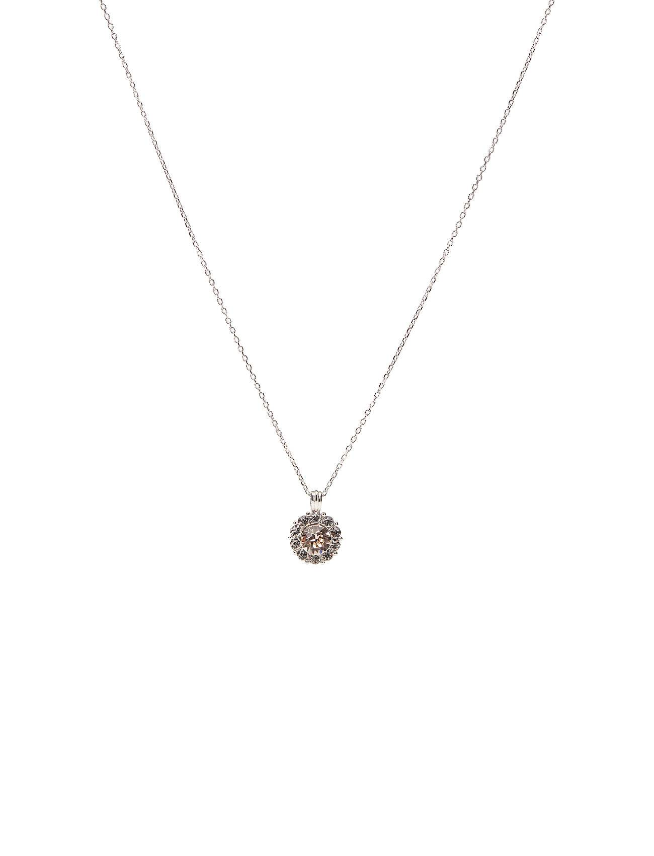 LILY AND ROSE Sofia Necklace - Silk Accessories Jewellery Necklaces Dainty Necklaces Beige LILY AND ROSE