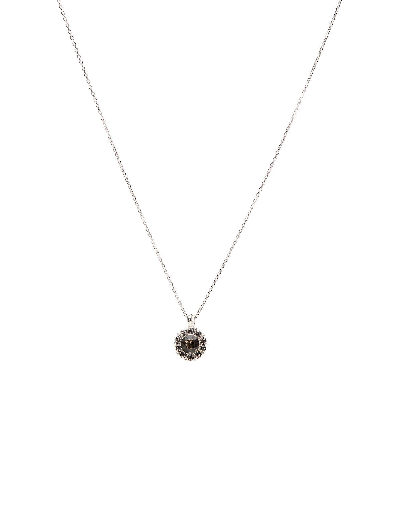 LILY AND ROSE Sofia Necklace - Diamond Grey Accessories Jewellery Necklaces Dainty Necklaces Harmaa LILY AND ROSE