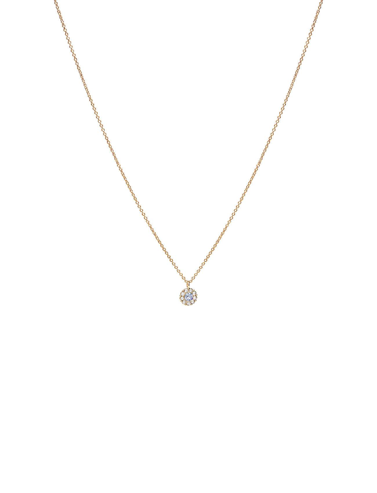 LILY AND ROSE Petite Miss Sofia Necklace - Light Sapphire Accessories Jewellery Necklaces Dainty Necklaces Sininen LILY AND ROSE