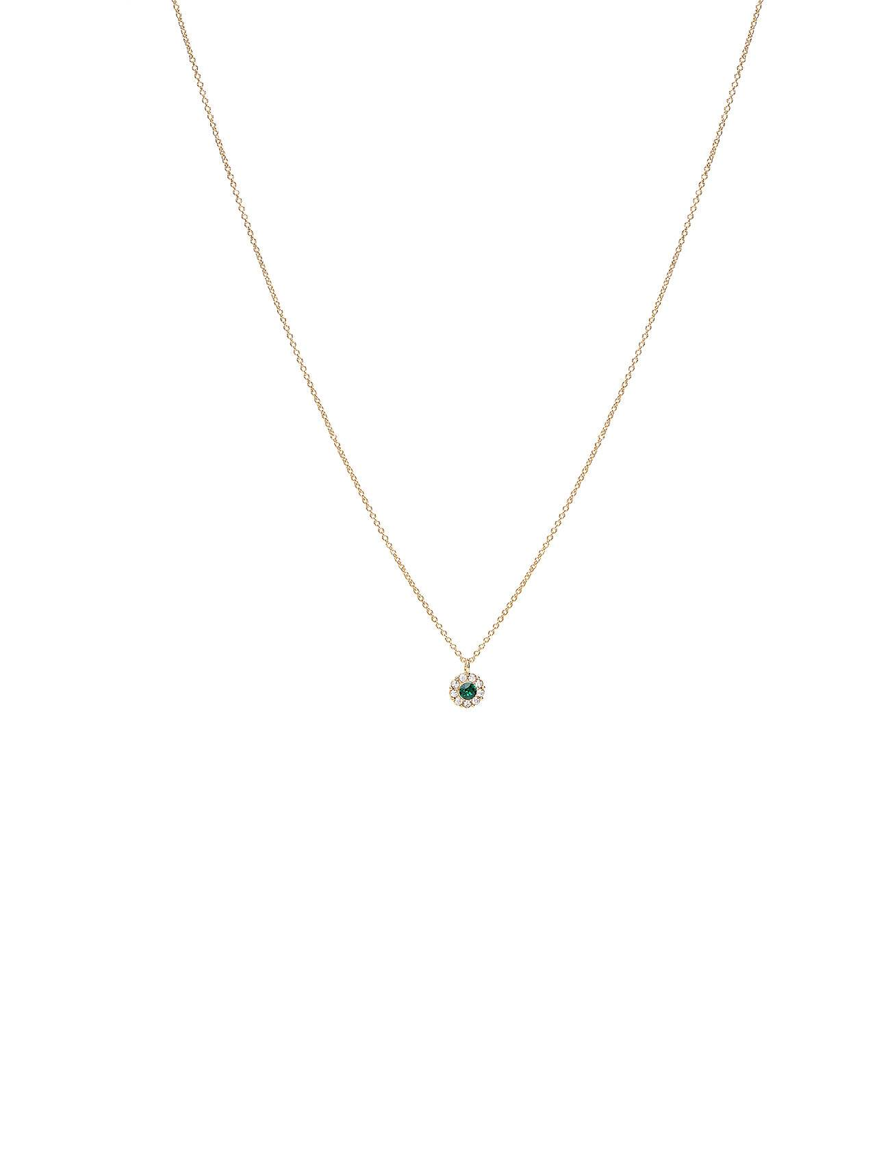 LILY AND ROSE Petite Miss Sofia Necklace - Emerald Accessories Jewellery Necklaces Dainty Necklaces Vihreä LILY AND ROSE