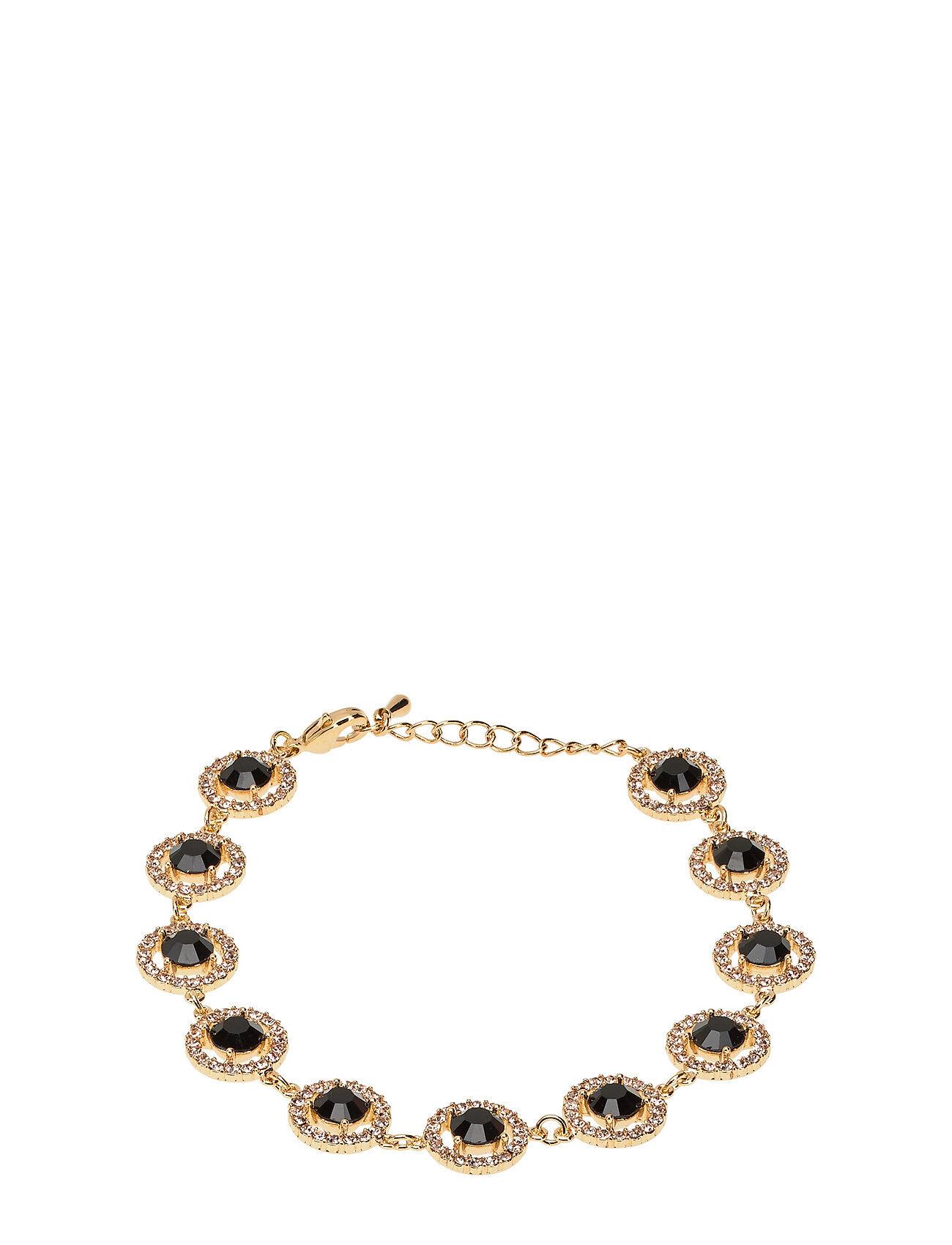 LILY AND ROSE Miranda Bracelet - Jet Accessories Jewellery Bracelets Chain Bracelets Musta LILY AND ROSE