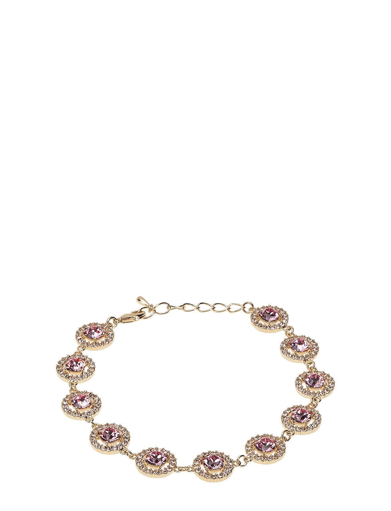 LILY AND ROSE Miranda Bracelet - Light Rose Accessories Jewellery Bracelets Chain Bracelets Vaaleanpunainen LILY AND ROSE