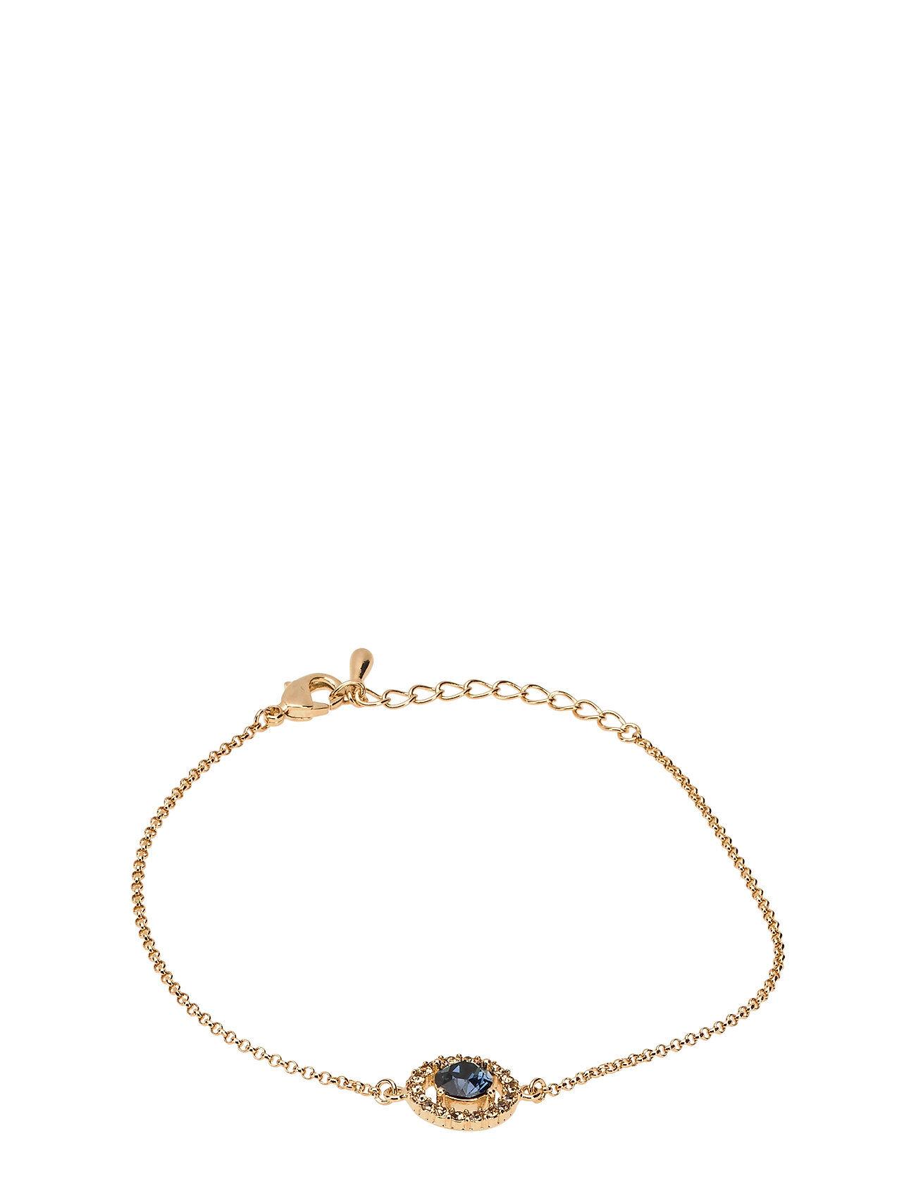 LILY AND ROSE Miss Miranda Bracelet - Golden Blue Accessories Jewellery Bracelets Chain Bracelets Kulta LILY AND ROSE