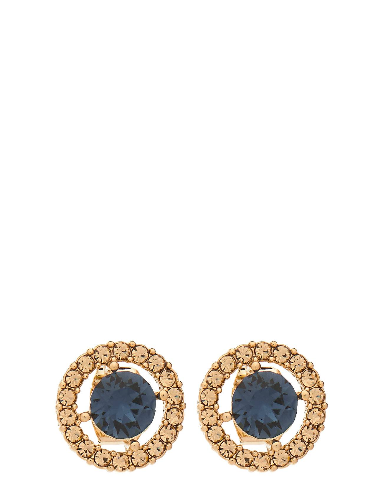 LILY AND ROSE Miss Miranda Earrings - Golden Blue Accessories Jewellery Earrings Studs Kulta LILY AND ROSE