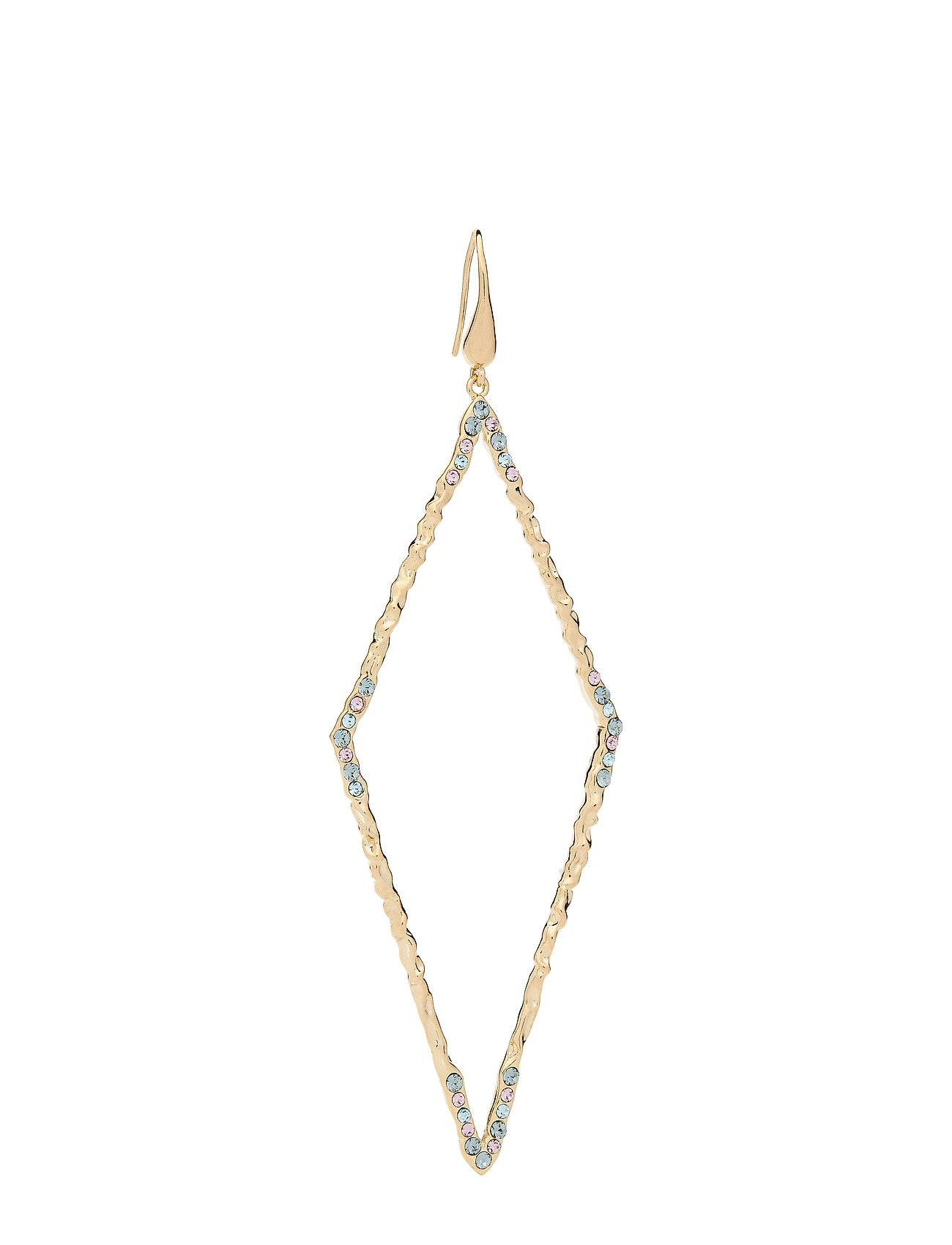 LILY AND ROSE Jagger Earrings - Indian Sapphire Accessories Jewellery Earrings Hoops Sininen LILY AND ROSE