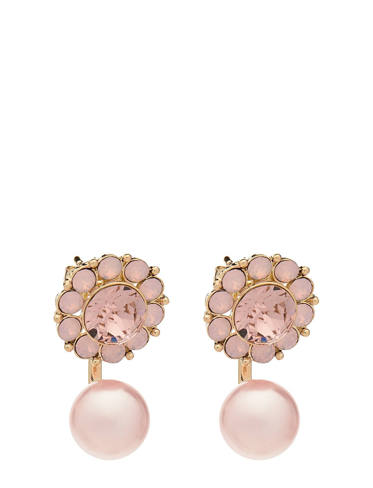 LILY AND ROSE Miss Sofia Butterfly Earrings - Vintage Rose Opal Accessories Jewellery Earrings Studs Vaaleanpunainen LILY AND ROSE