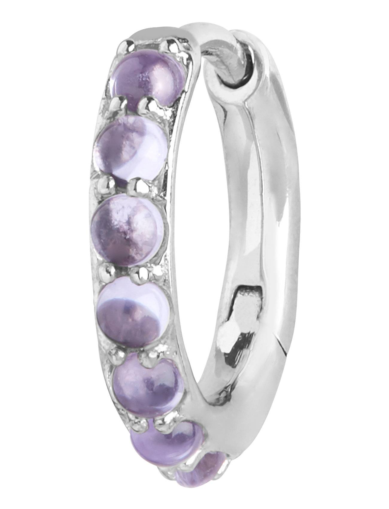 Maria Black Globo Violet Huggie Accessories Jewellery Earrings Hoops Hopea Maria Black