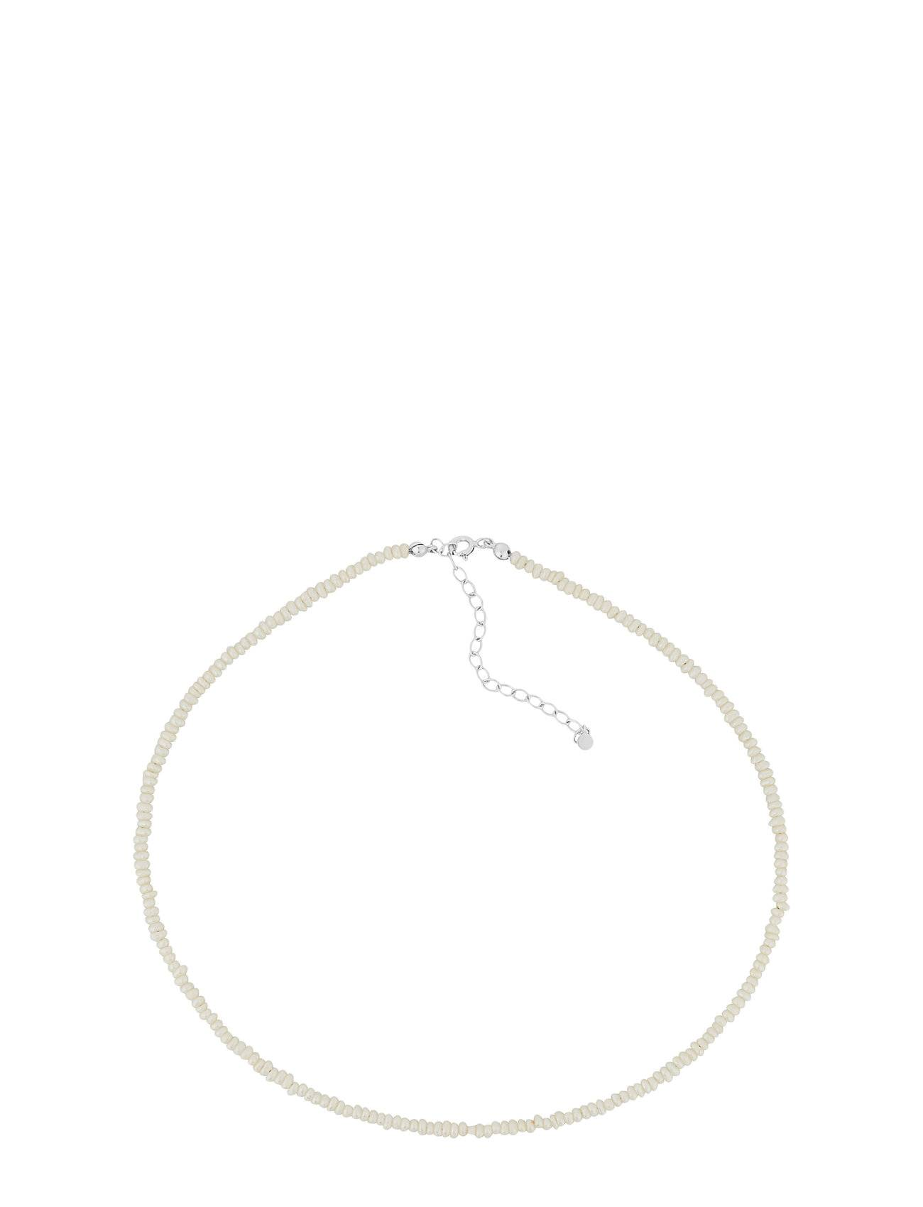 Pernille Corydon Baroque Pearl Necklace Adj. 38-44 Cm Accessories Jewellery Necklaces Dainty Necklaces Hopea Pernille Corydon