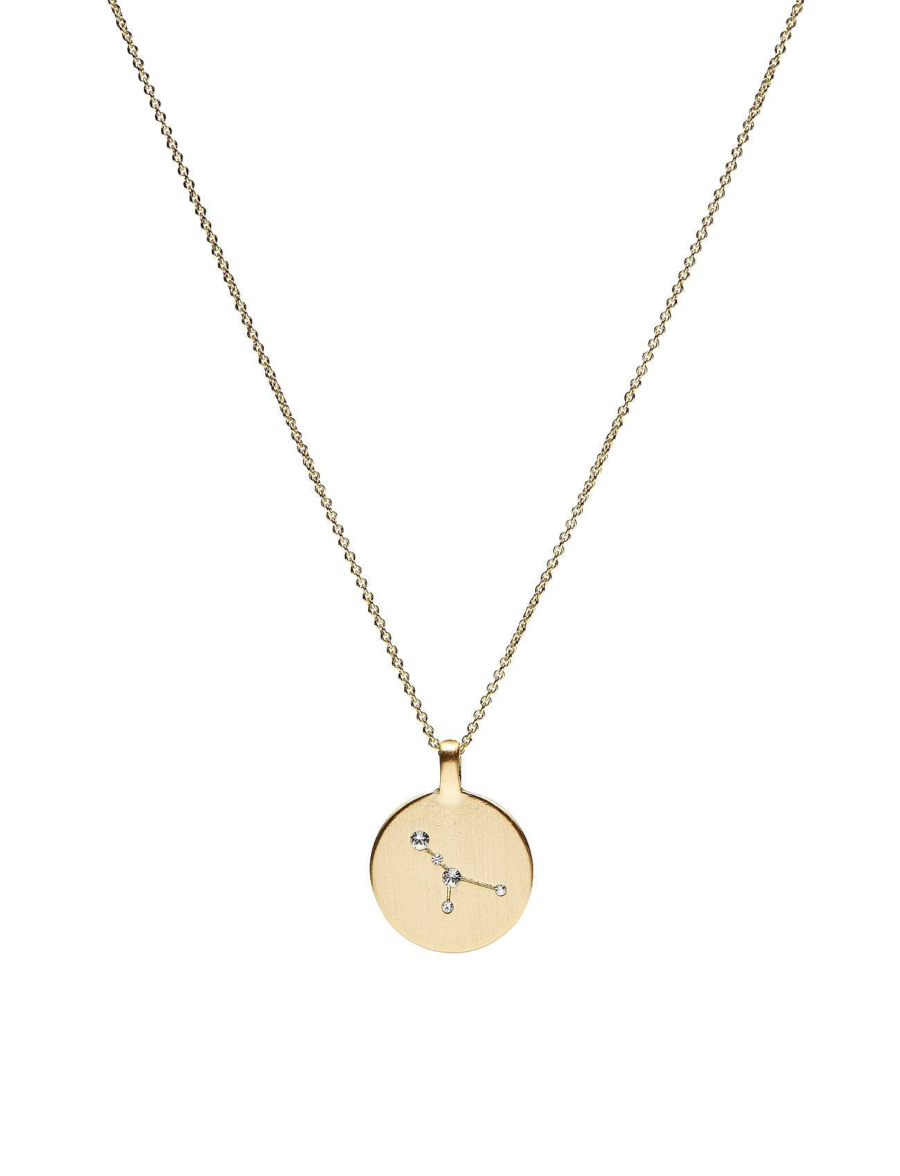 Pilgrim Necklace - Cancer Accessories Jewellery Necklaces Dainty Necklaces Kulta Pilgrim