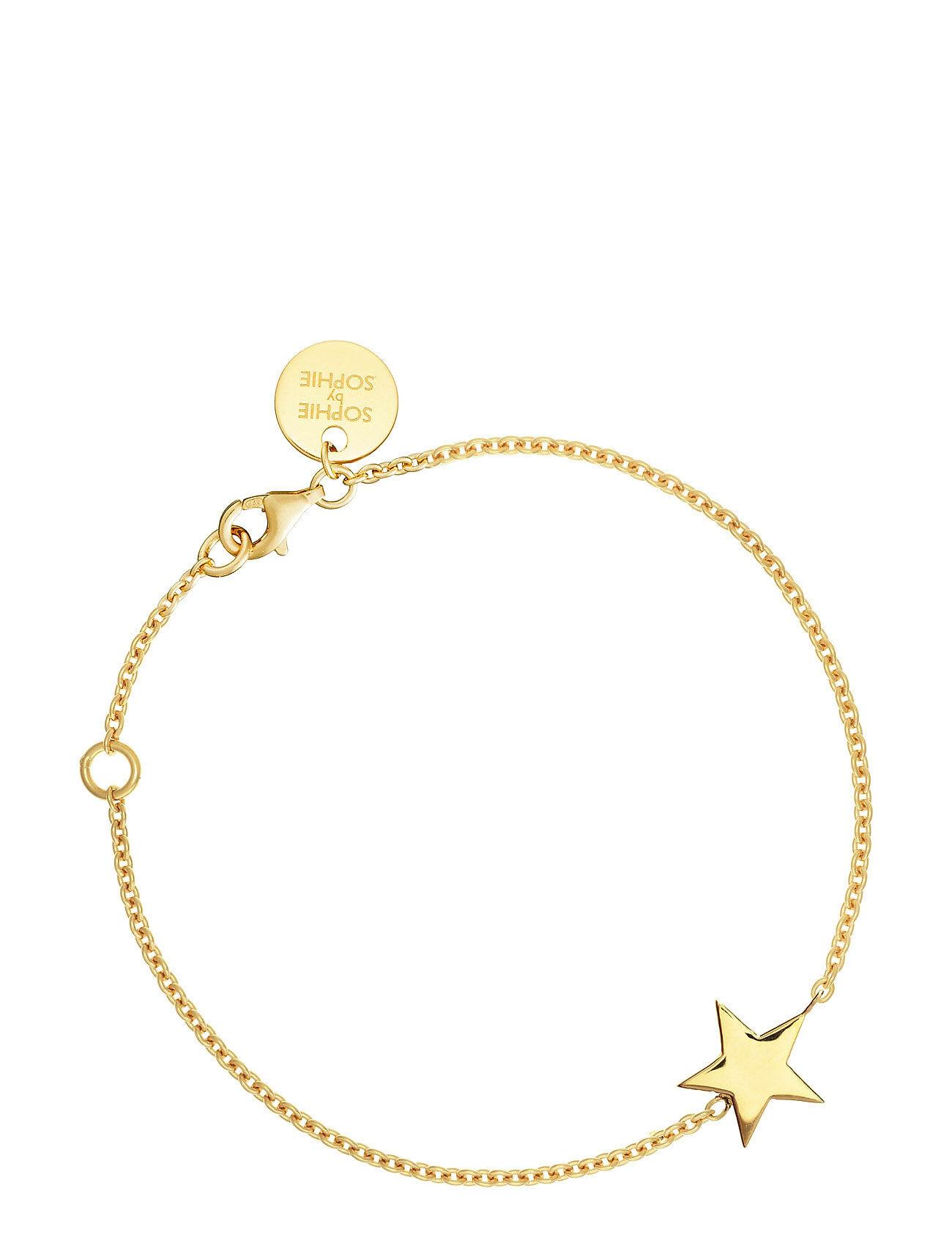 SOPHIE by SOPHIE Star Bracelet Accessories Jewellery Bracelets Chain Bracelets Kulta SOPHIE By SOPHIE