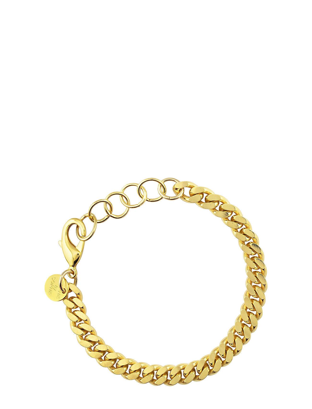 SOPHIE by SOPHIE Pansar Thin Bracelet Accessories Jewellery Bracelets Chain Bracelets Kulta SOPHIE By SOPHIE