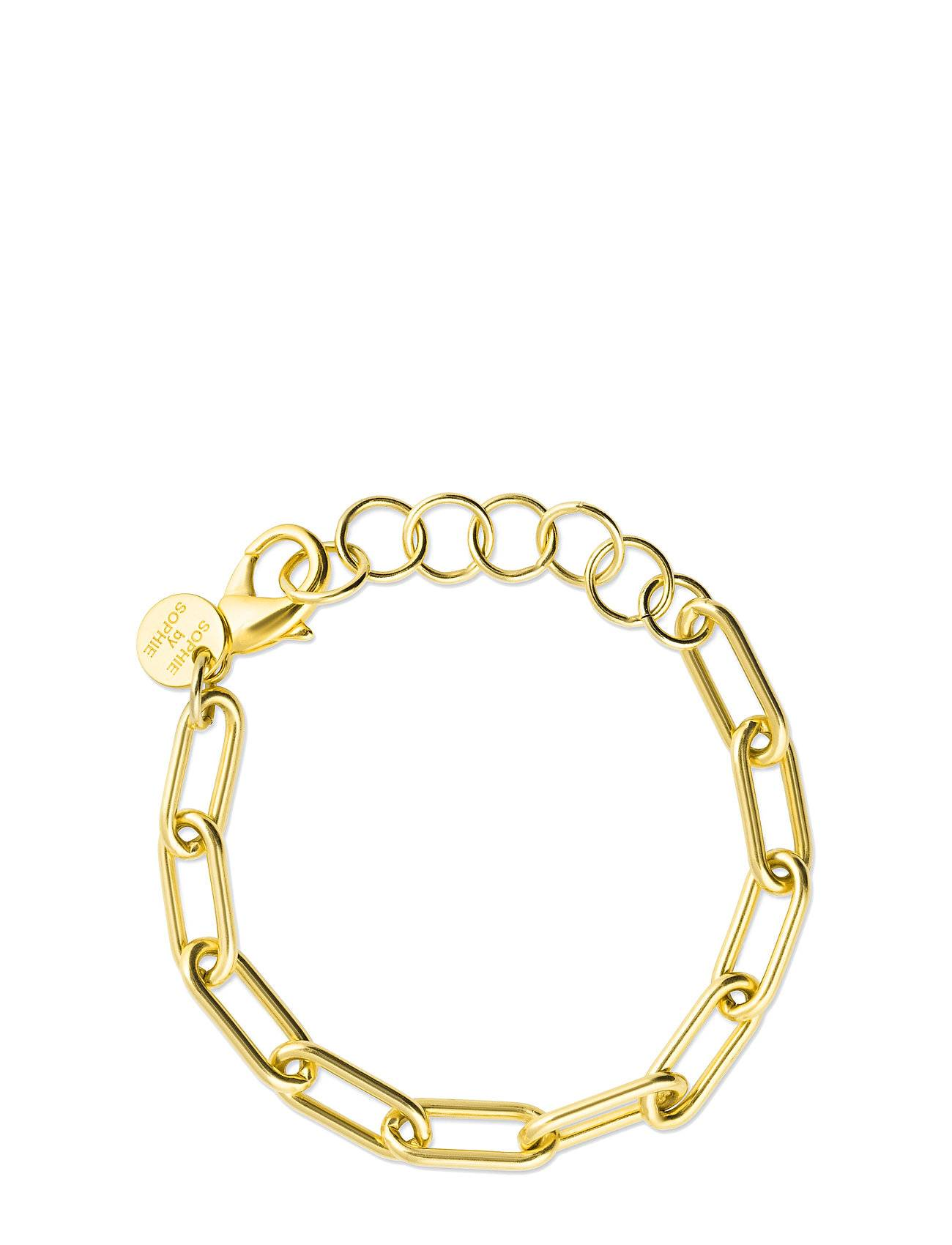 SOPHIE by SOPHIE Link Chain Bracelet Accessories Jewellery Bracelets Chain Bracelets Kulta SOPHIE By SOPHIE