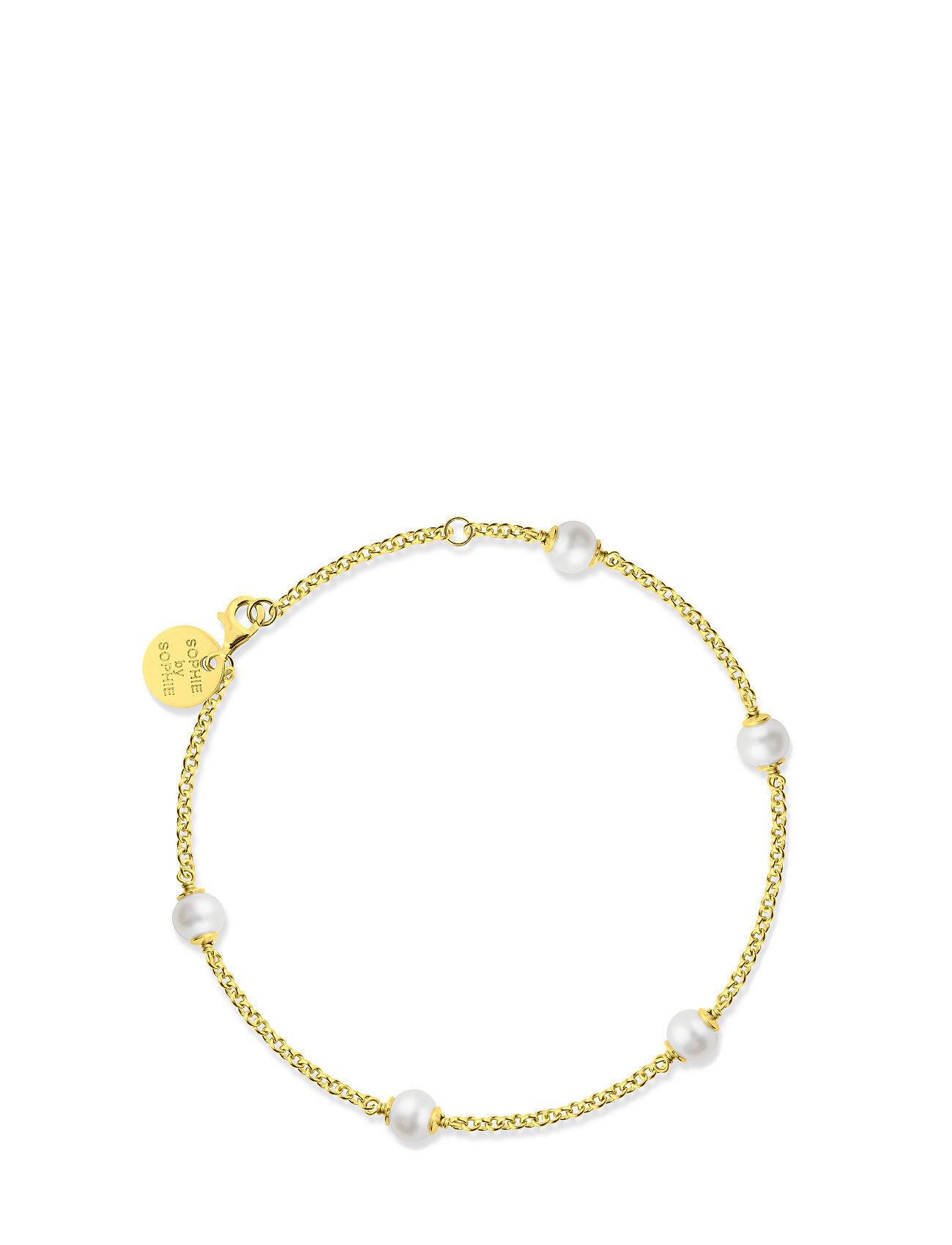 SOPHIE by SOPHIE Funky Pearl Bracelet Accessories Jewellery Bracelets Chain Bracelets Kulta SOPHIE By SOPHIE