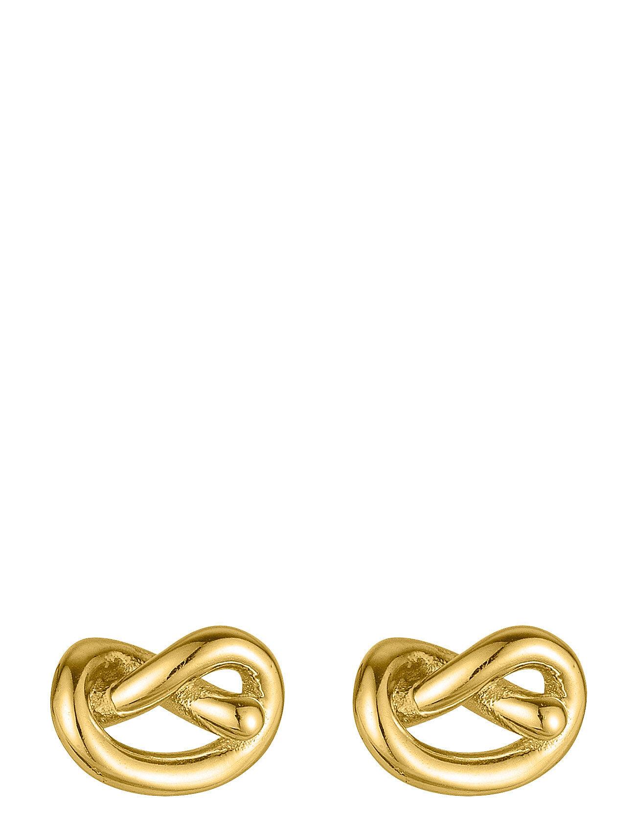 SOPHIE by SOPHIE Knot Studs Accessories Jewellery Earrings Studs Kulta SOPHIE By SOPHIE