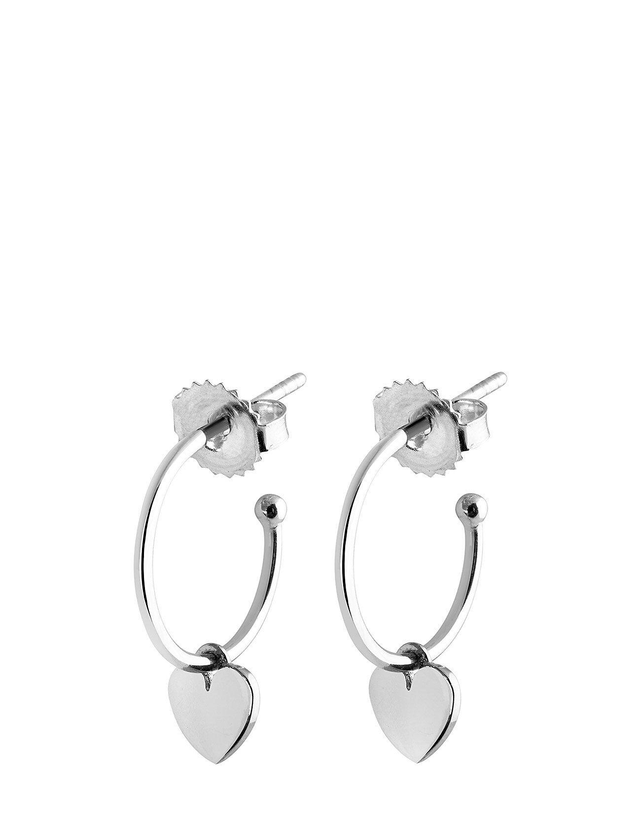 SOPHIE by SOPHIE Mini Hoops Heart Accessories Jewellery Earrings Hoops Hopea SOPHIE By SOPHIE