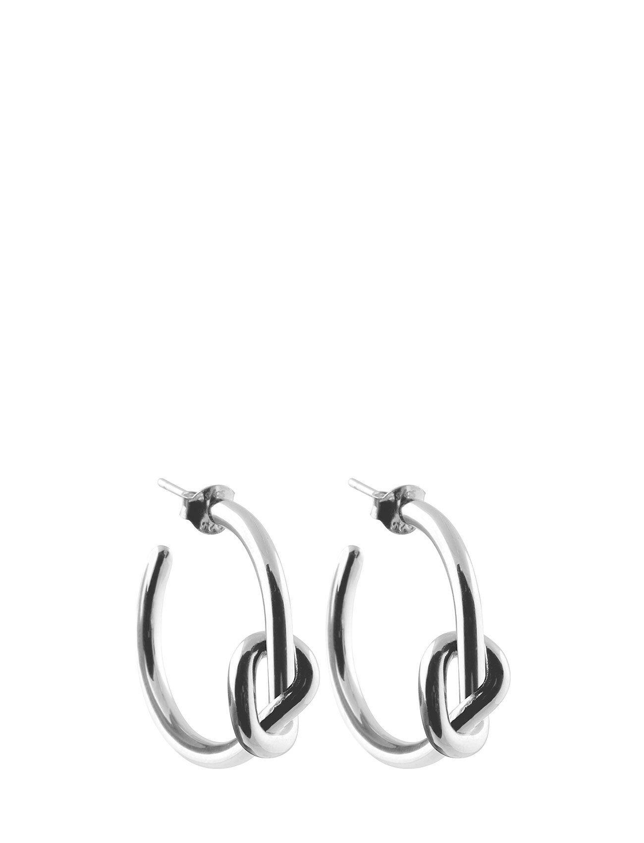 SOPHIE by SOPHIE Knot Hoops Accessories Jewellery Earrings Hoops Hopea SOPHIE By SOPHIE