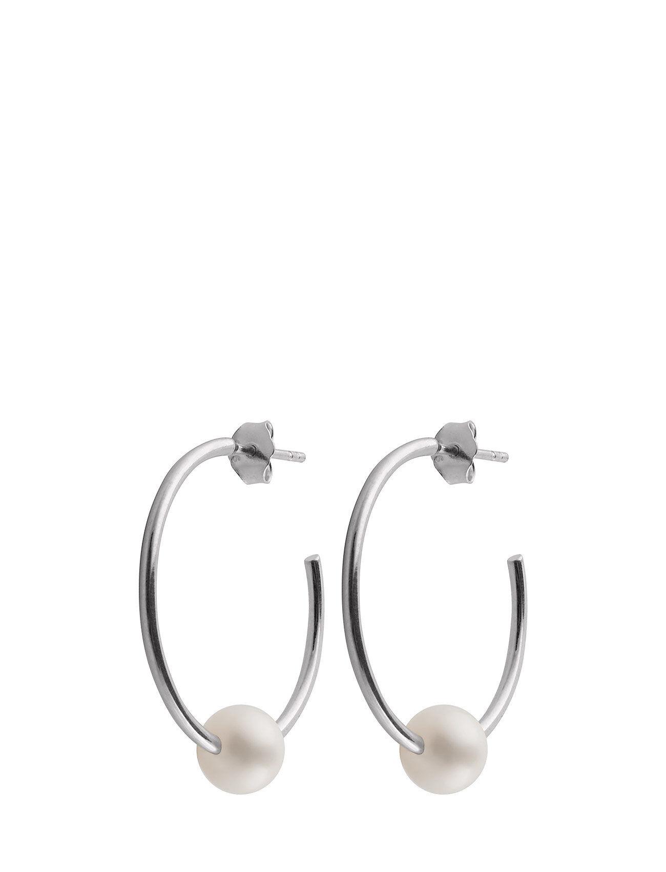 SOPHIE by SOPHIE Pearl Hoops Accessories Jewellery Earrings Hoops Hopea SOPHIE By SOPHIE