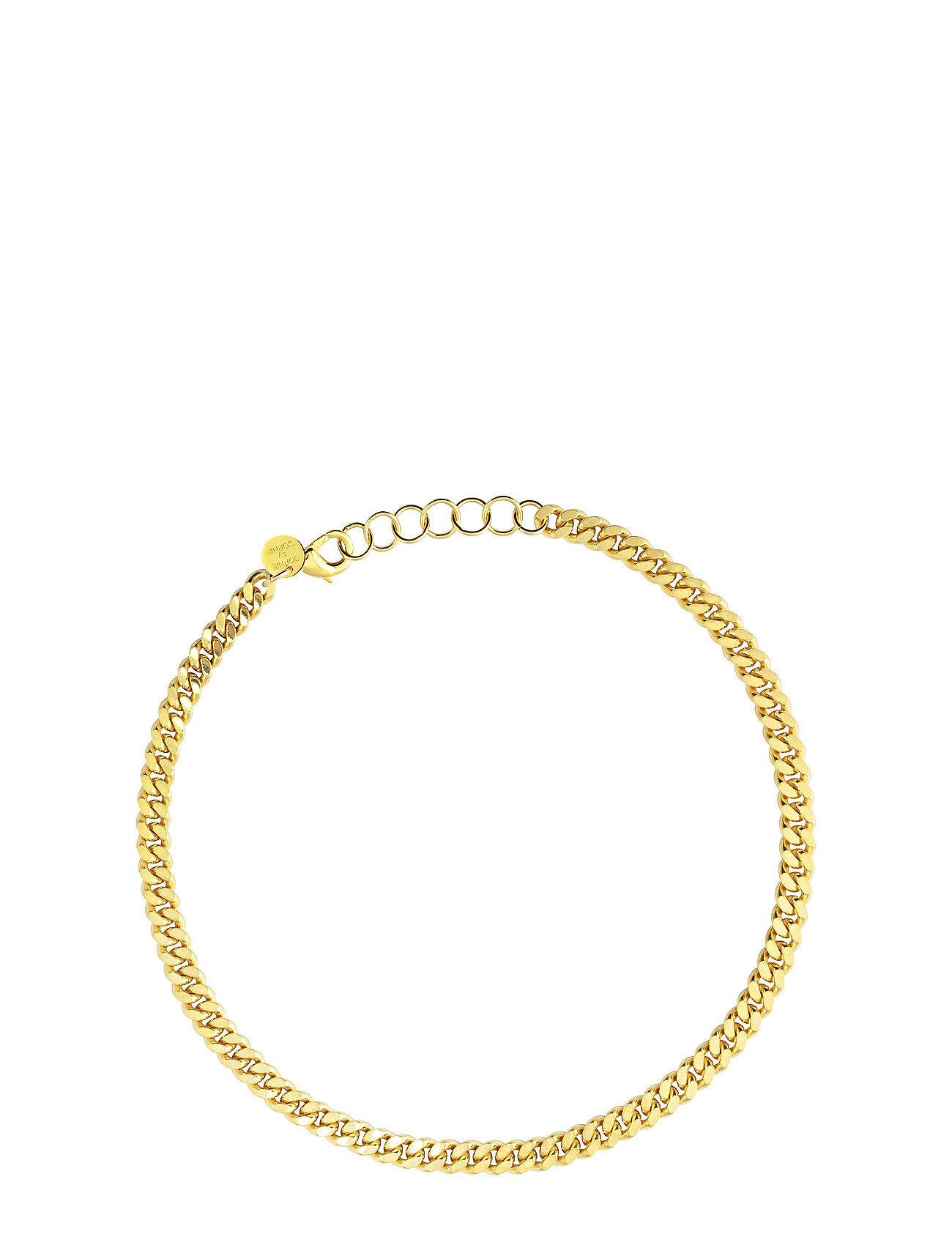 SOPHIE by SOPHIE Pansar Thin Necklace Accessories Jewellery Bracelets Chain Bracelets Kulta SOPHIE By SOPHIE