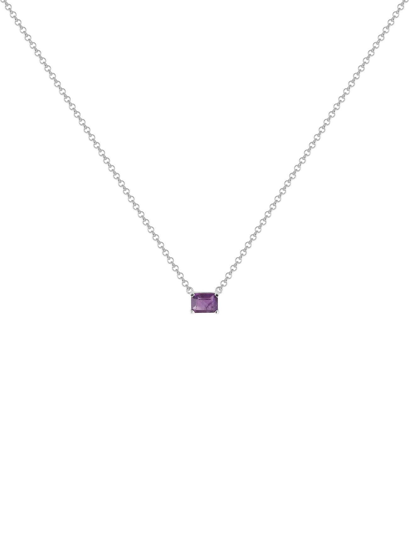 SOPHIE by SOPHIE Emerald-Cut Necklace Accessories Jewellery Necklaces Dainty Necklaces Hopea SOPHIE By SOPHIE