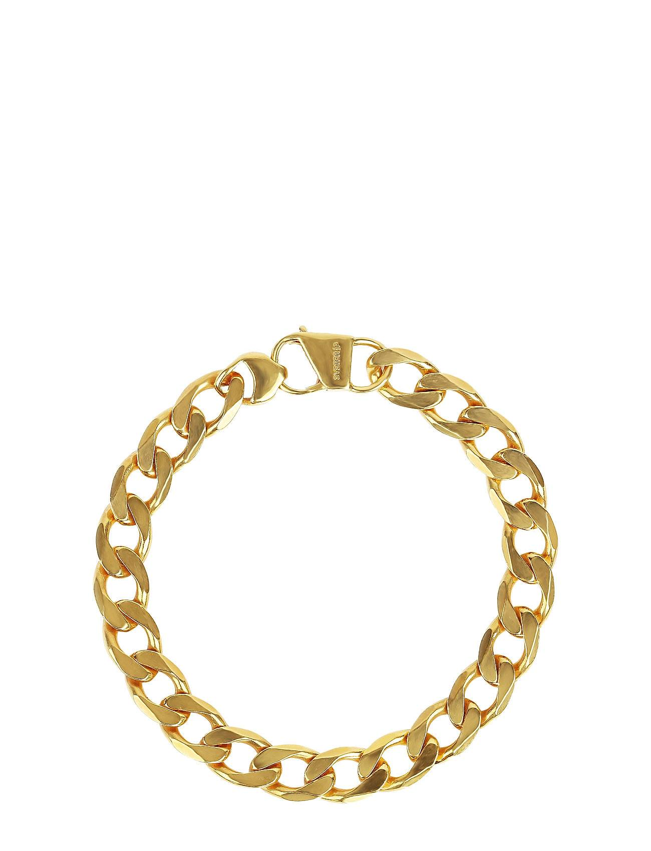 Syster P Links Curb Chain Bracelet Gold Accessories Jewellery Bracelets Chain Bracelets Kulta Syster P